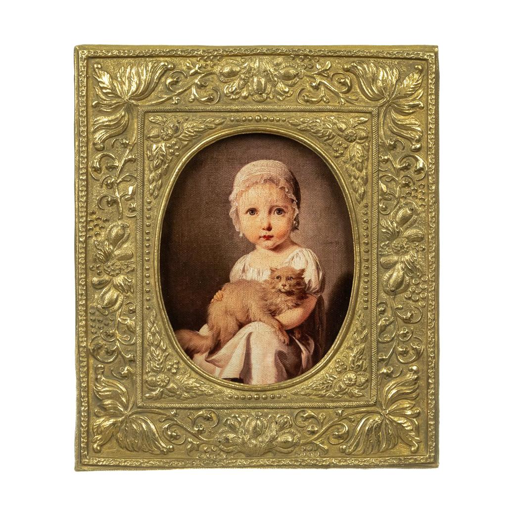 Картина в раме Glasar, масло 22x2x27 см