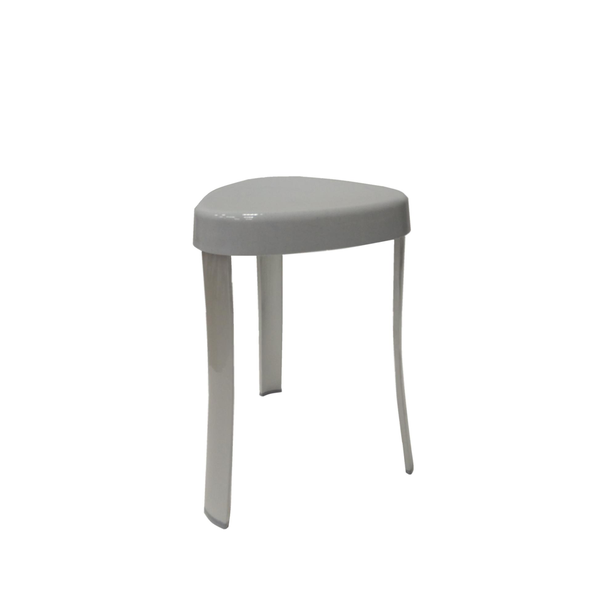 Стул для ванной Primanova серый 25х29х45 см стул для ванной primanova белый25х29х45 см