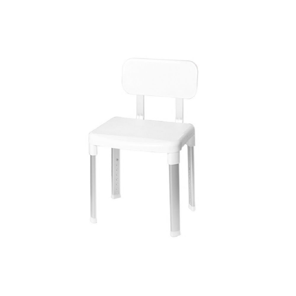 Стул-кресло для ванной Primanova белый 42х34х83 см стул для ванной primanova белый25х29х45 см