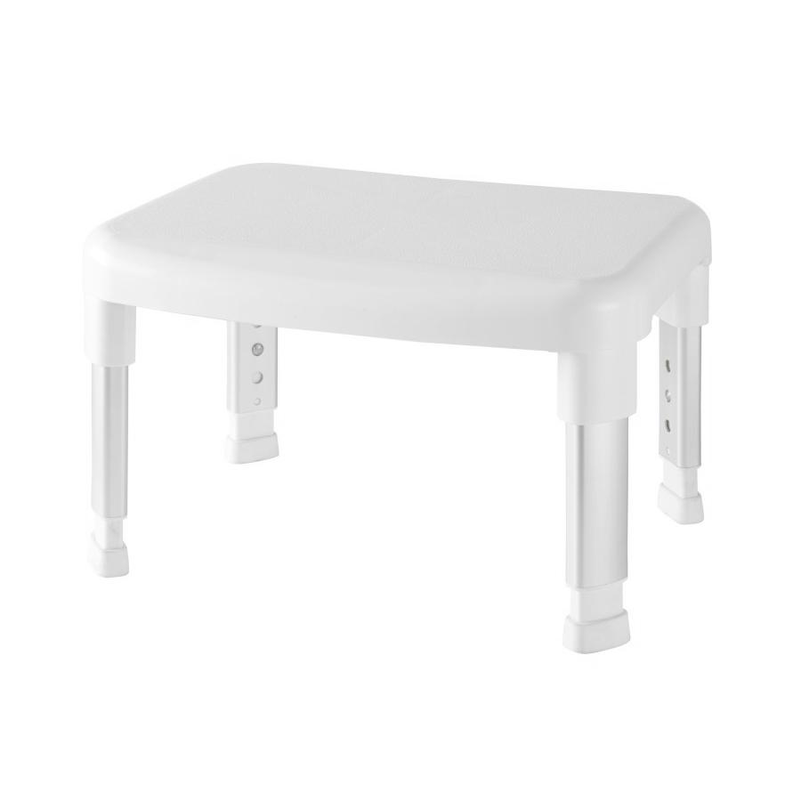 Стул-подставка для ванной Primanova белый 42х34х29 см стул для ванной primanova белый25х29х45 см