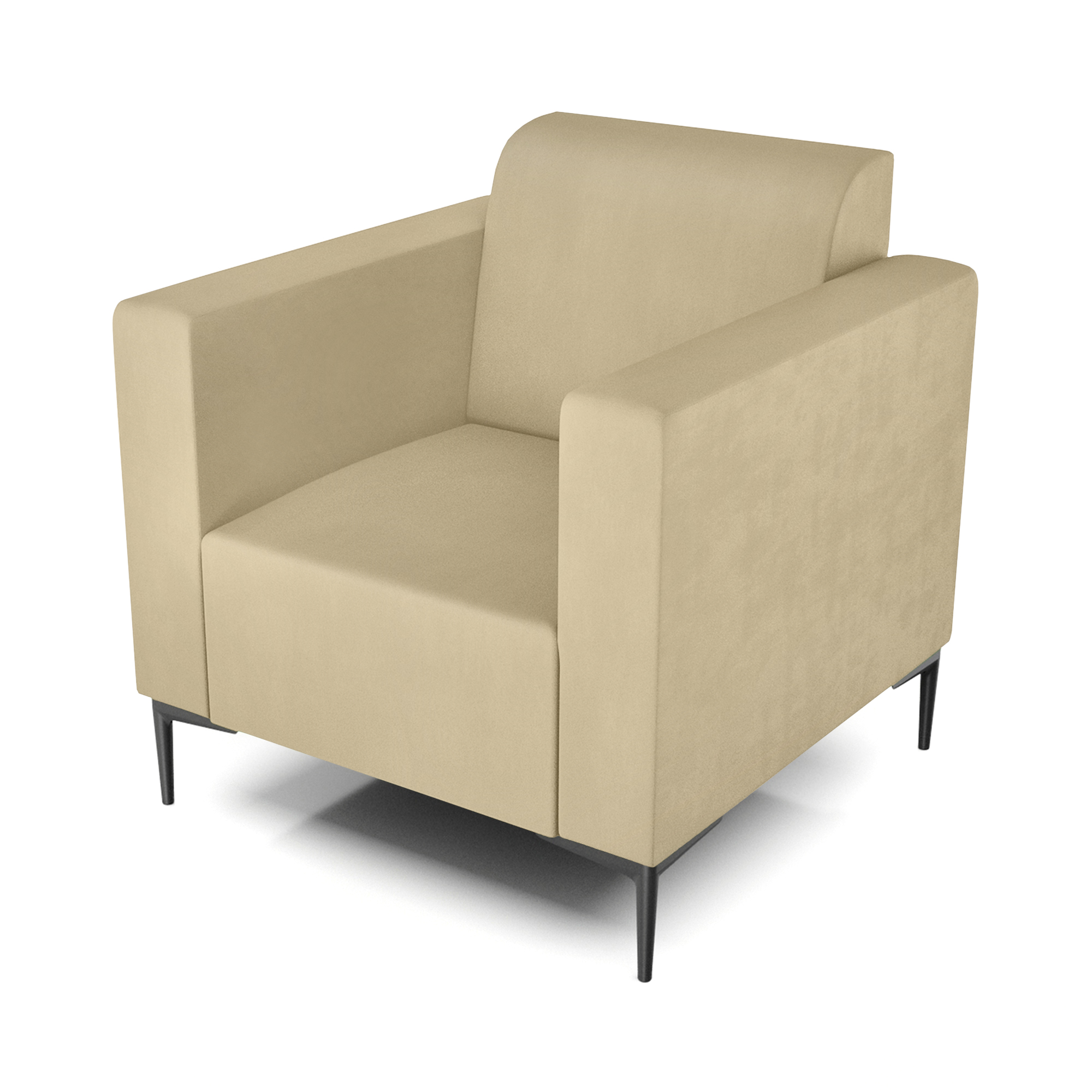 Кресло AS Тиффани 79x78x73 см бежевый кресло as тиффани 79x78x73 см коричневый