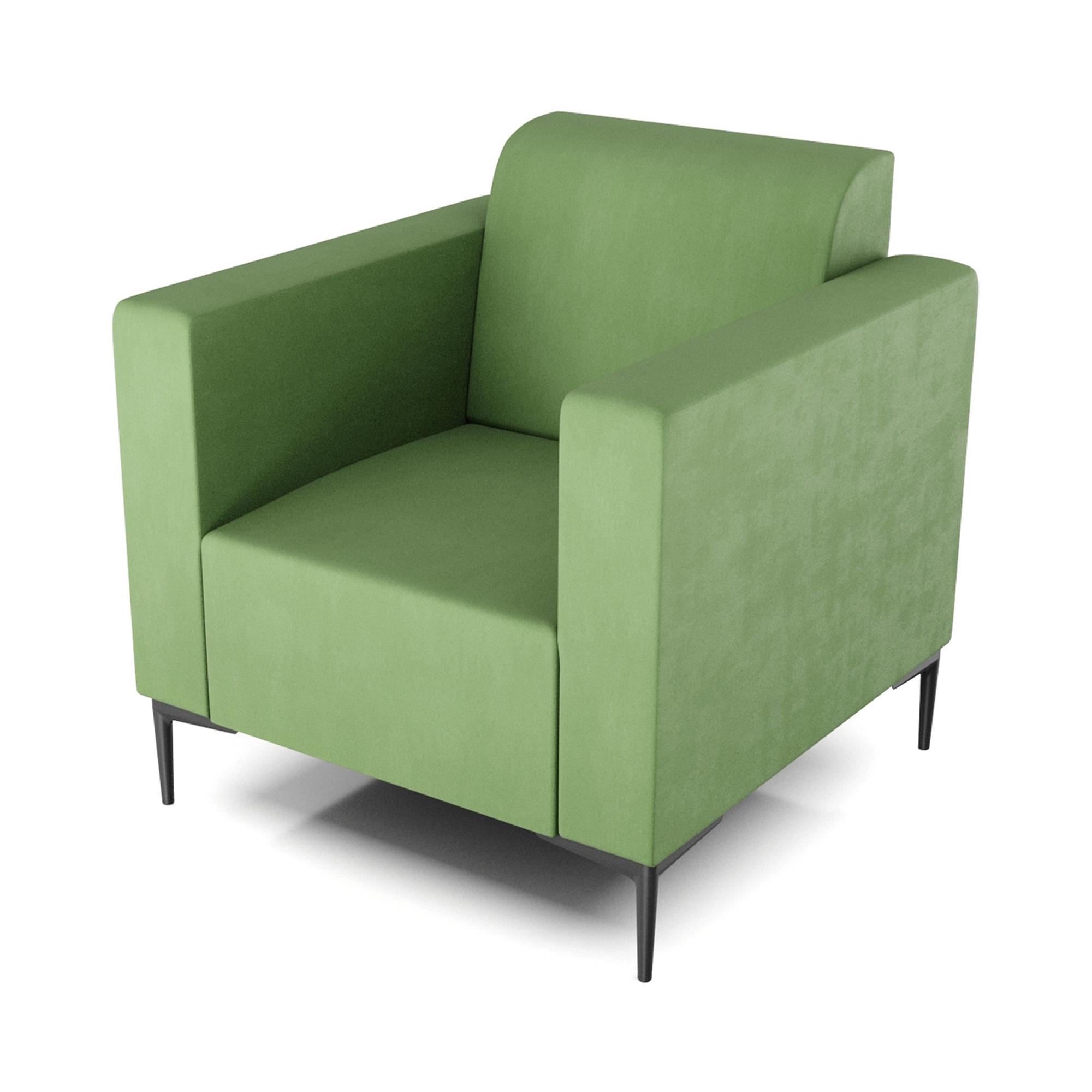 Кресло AS Тиффани 79x78x73 см зеленый кресло as тиффани 79x78x73 см коричневый