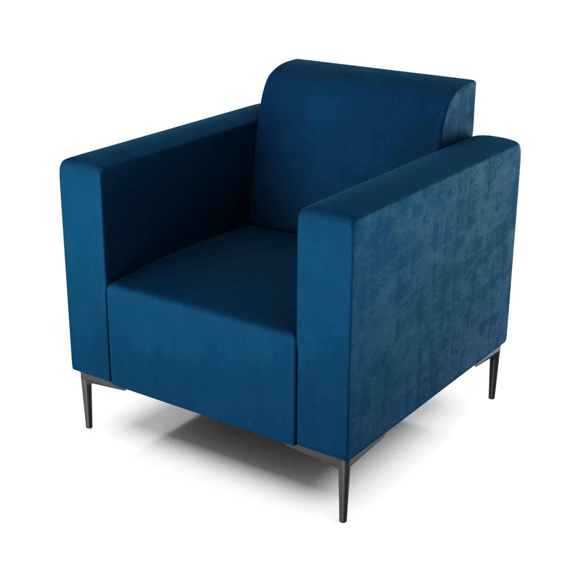 Кресло AS Тиффани 79x78x73 см синий кресло as тиффани 79x78x73 см коричневый