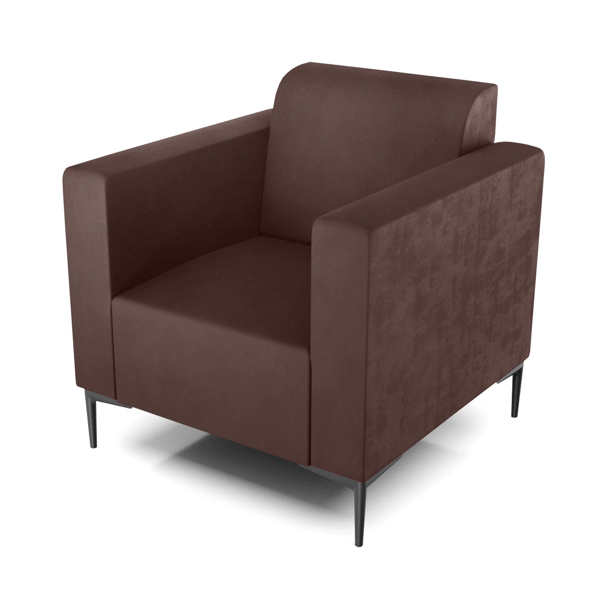 Кресло AS Тиффани 79x78x73 см коричневый кресло as тиффани 79x78x73 см коричневый