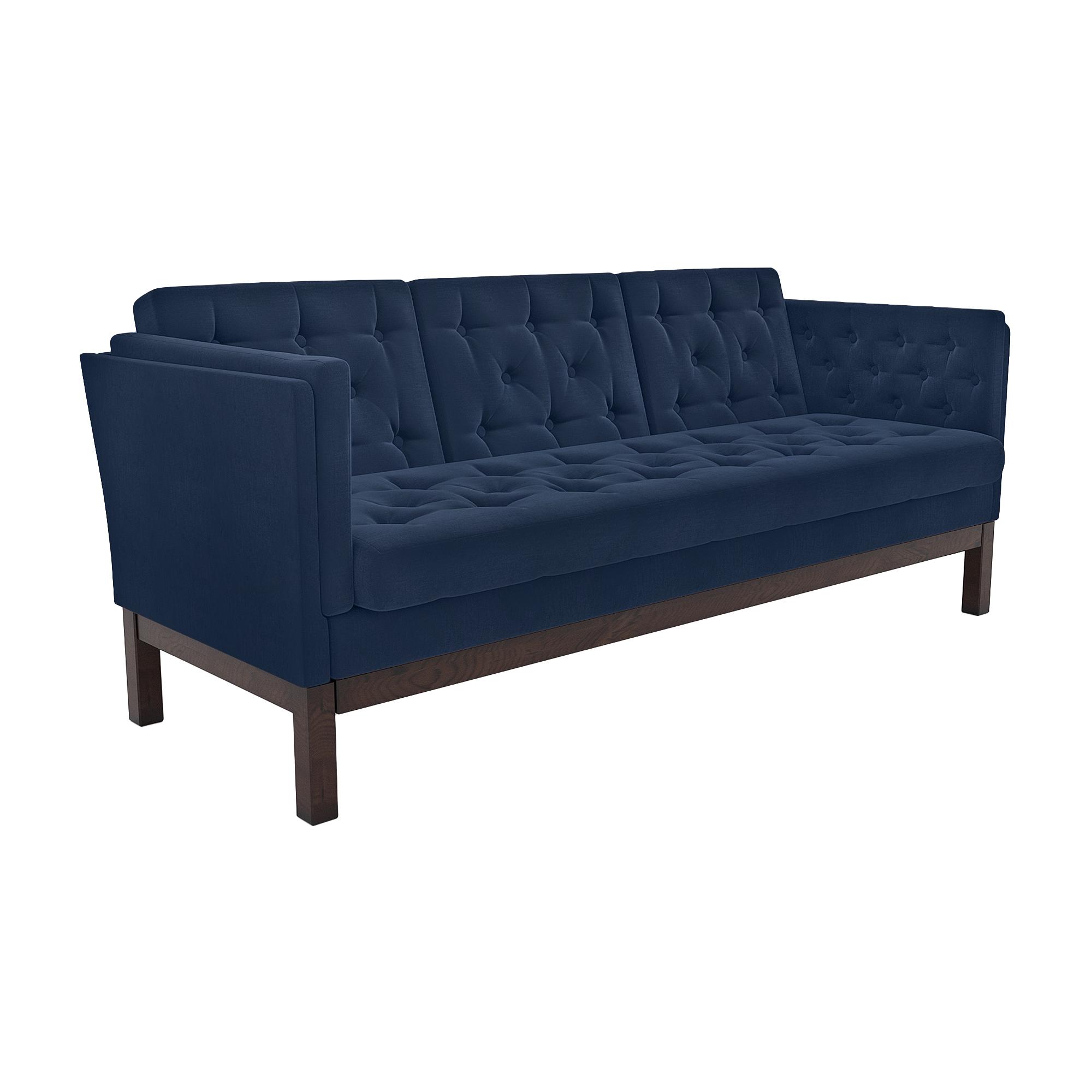 Фото - Диван AS Алана б 193x82x83 венге/деним диван as алана б 193x82x83 венге бейдж