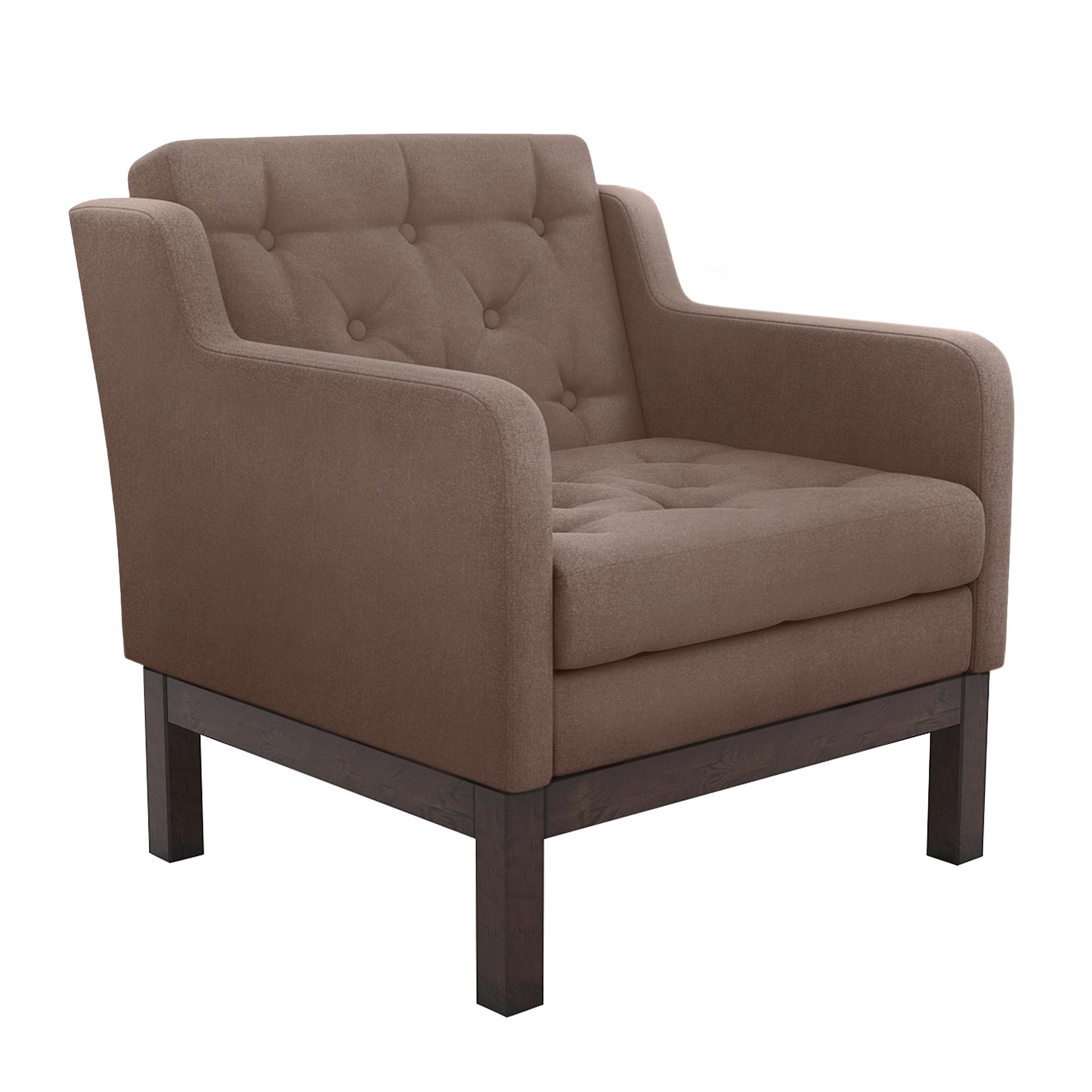Фото - Кресло AS Алана 75.5x82x83 венге/чоколейт диван as алана б 193x82x83 венге чоколейт