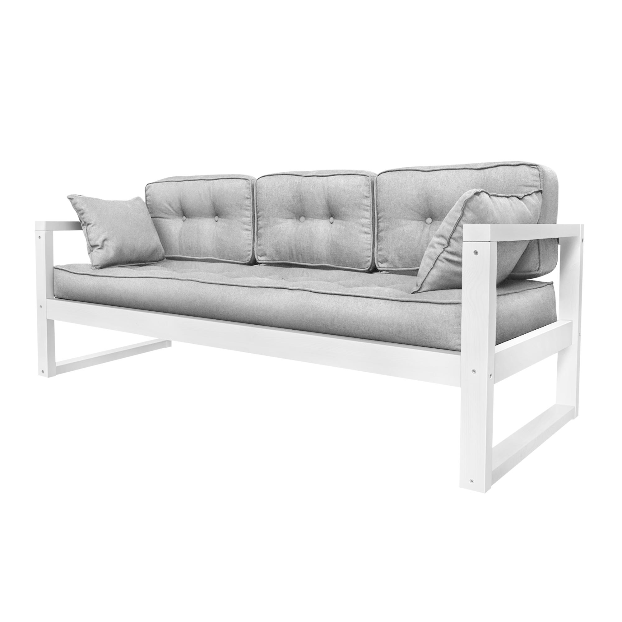 Фото - Диван AS Алекс б 178x73x64 белый/аш диван as алекс б 178x73x64 белый графитовый