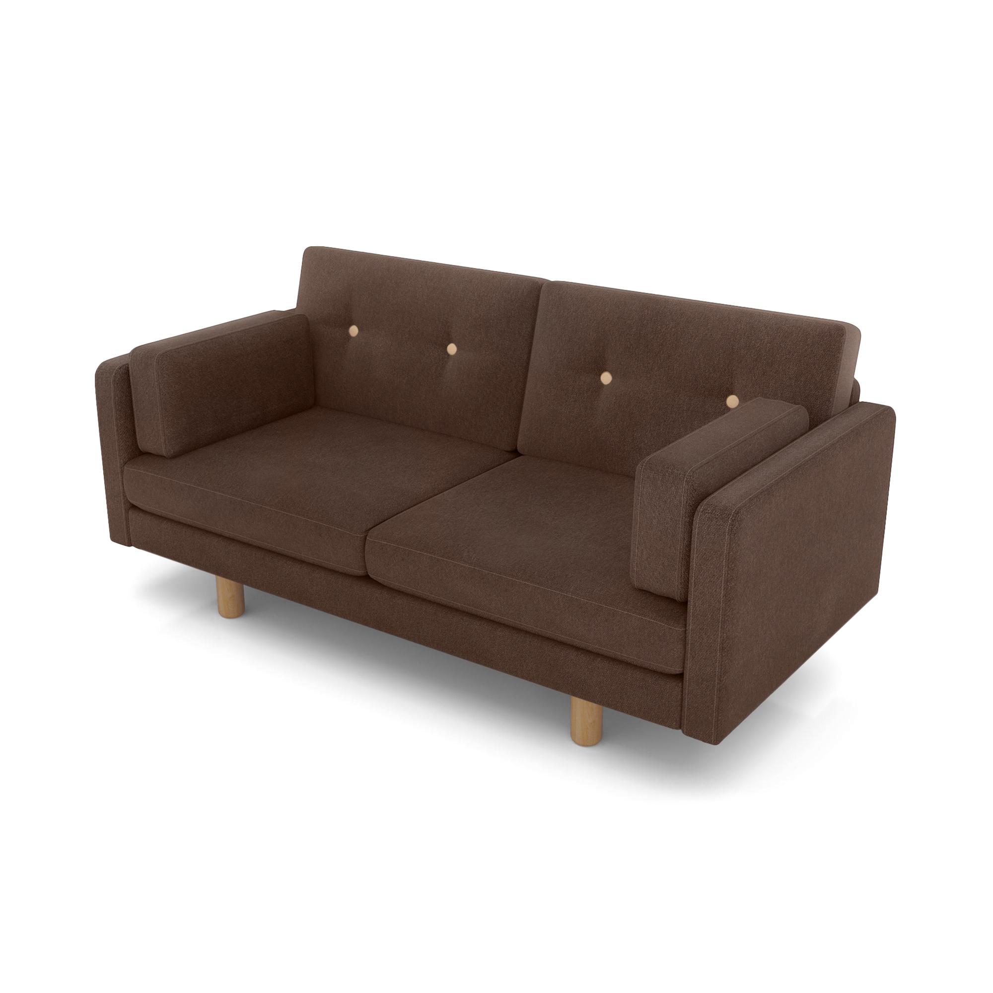 Фото - Диван AS Изабелла м 167x80x83 кофе диван as изабелла м 167x80x83 синий
