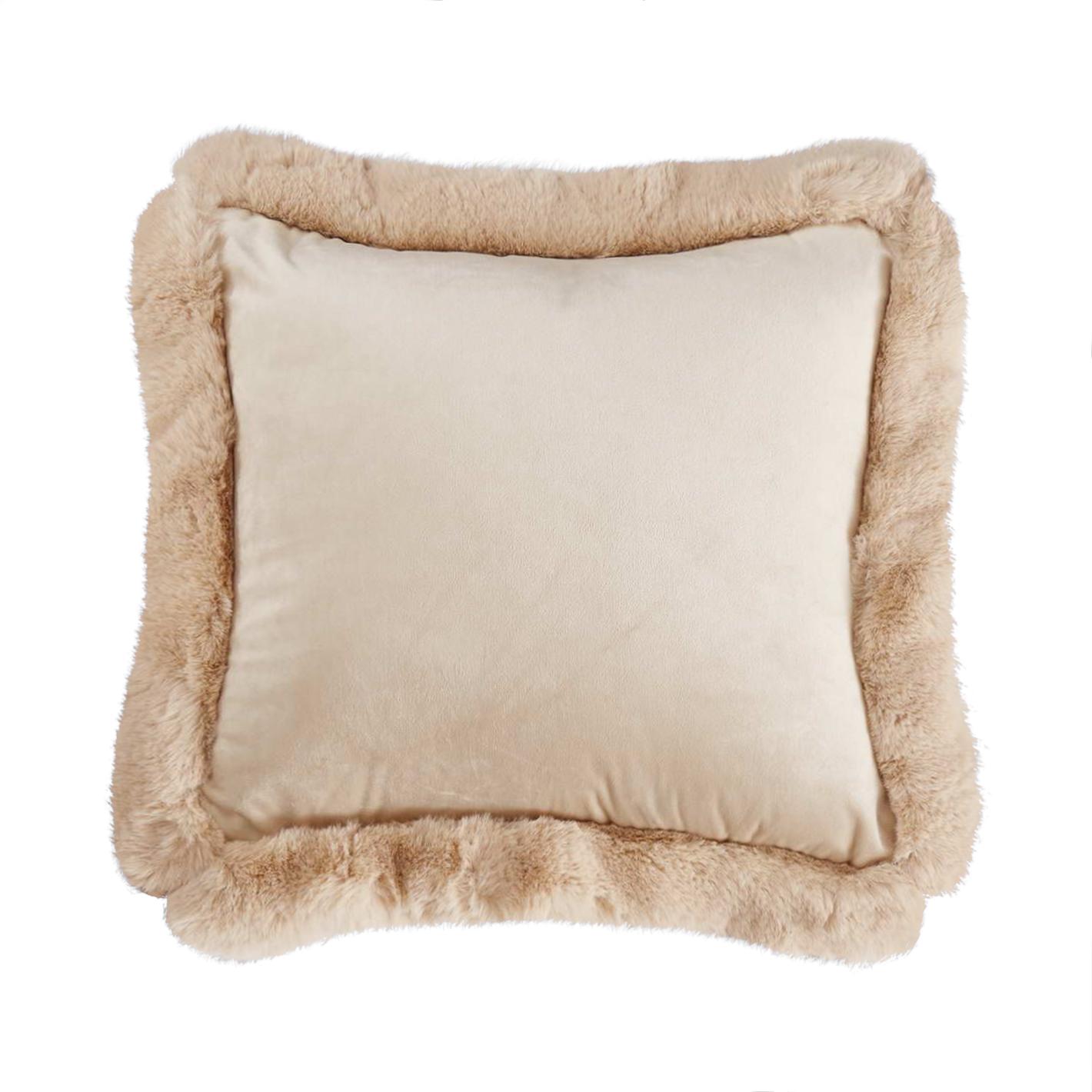Подушка декоративная Sofi De Marko Сиена кремовая 45х45 см