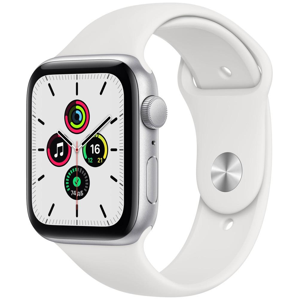 Фото - Часы Apple Watch SE GPS 40 мм Silver MYDM2RU/A смарт часы apple watch se gps 44 мм pink sand mydr2ru a