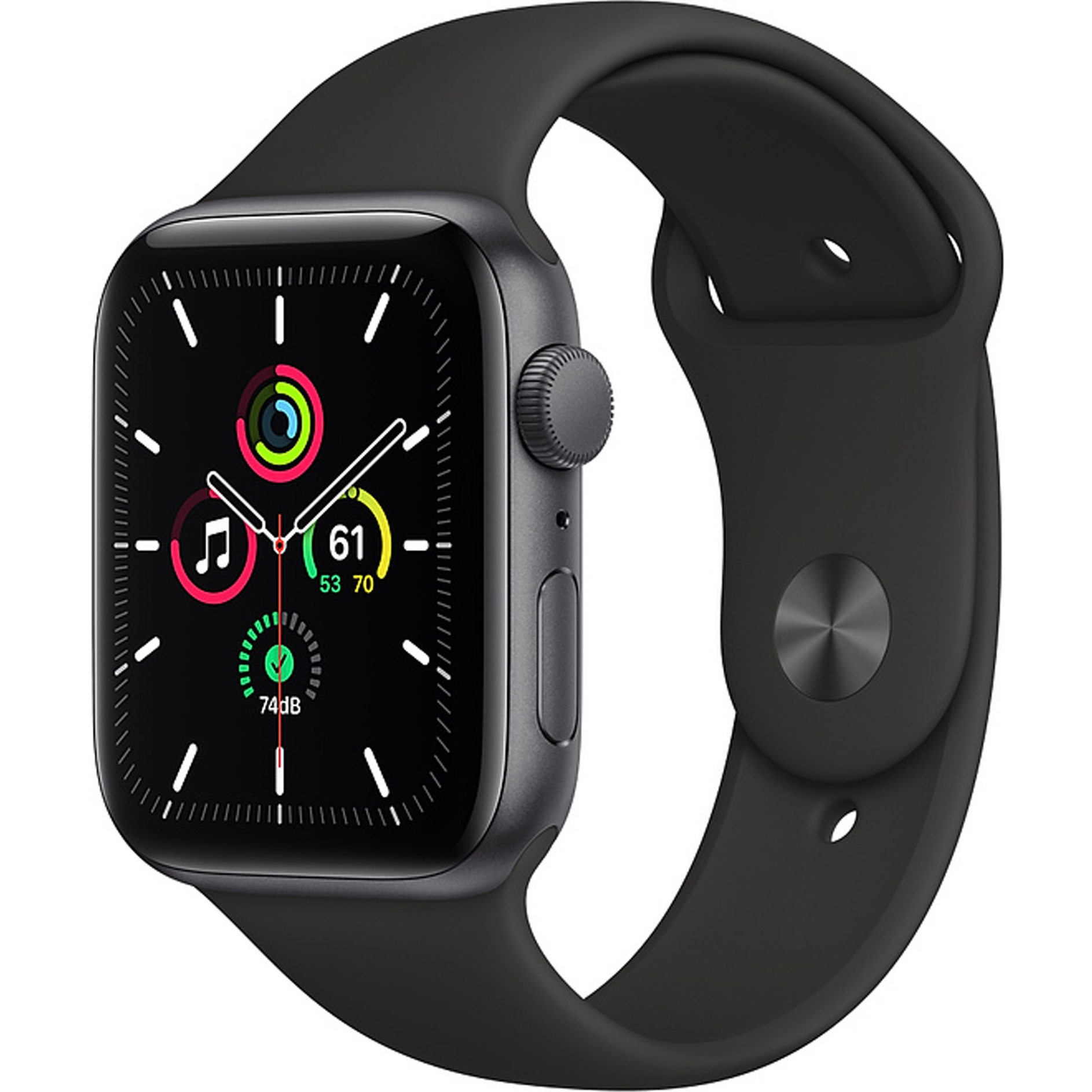 Смарт-часы Apple Watch SE GPS 40мм Space Gray MYDP2RU/A