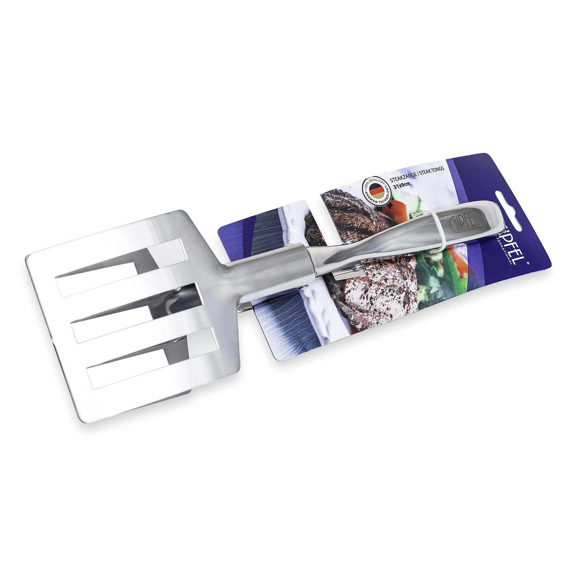 Щипцы кухонные Gipfel для стейков 31 см щипцы кухонные gipfel 30 см
