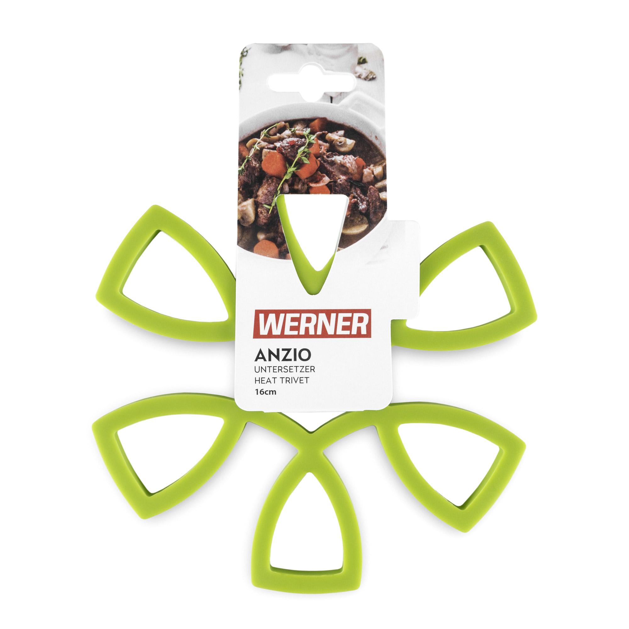 Фото - Силиконовая подставка под горячее Werner Anzio 16 см набор прихваток werner anzio 50025 2 шт