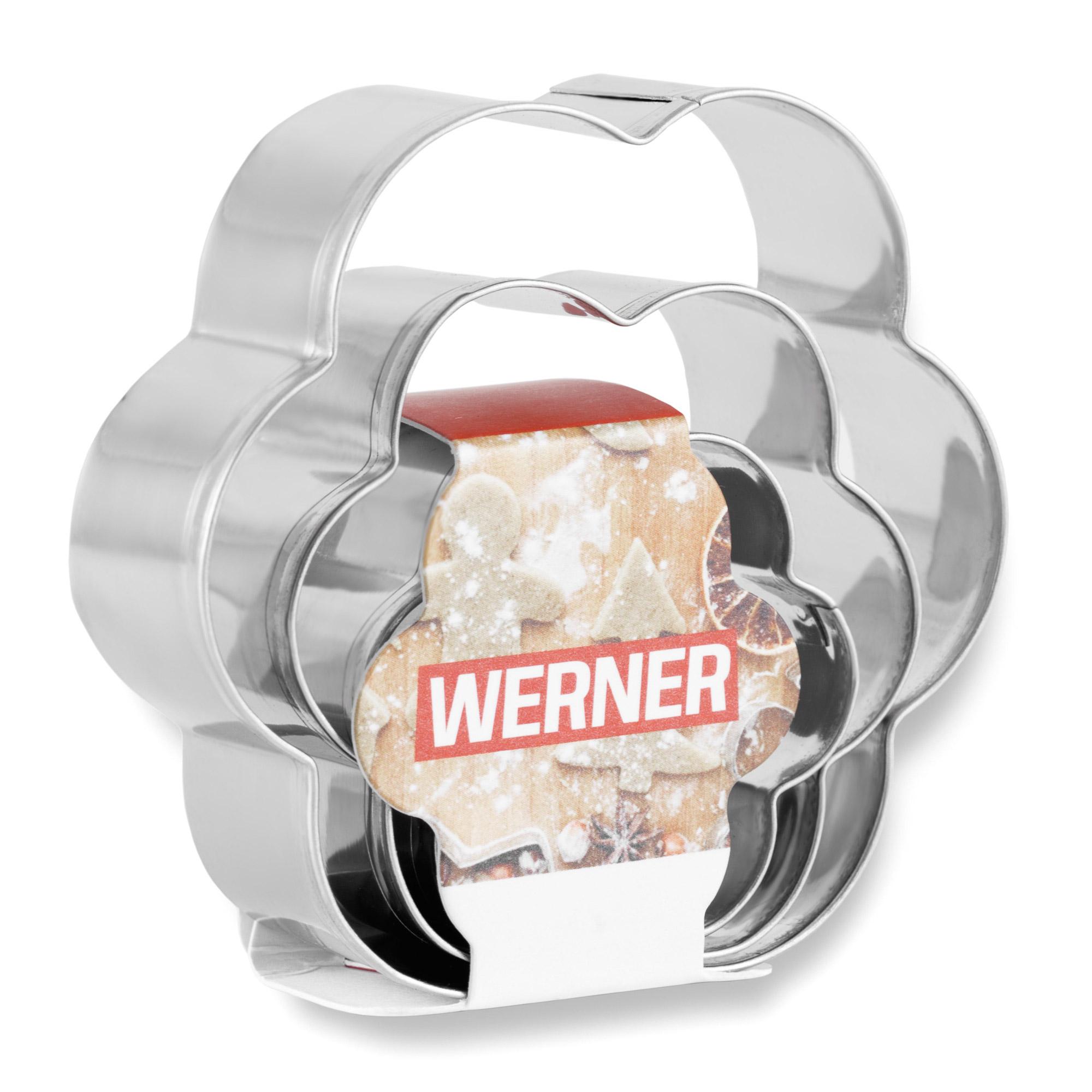 Фото - Набор формочек для выпечки Werner Anzio 3 предмета набор прихваток werner anzio 50025 2 шт