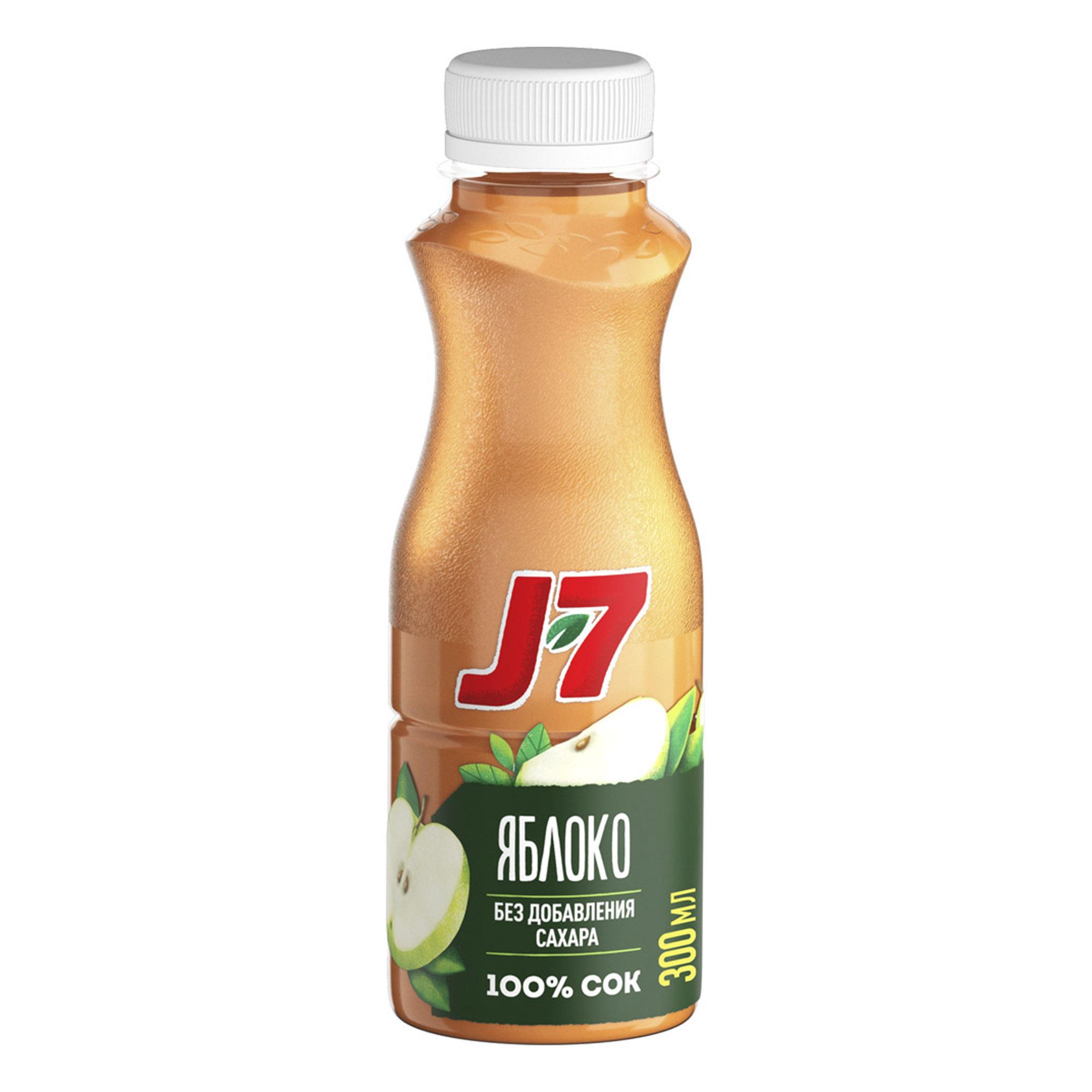 Фото - Сок J7 Яблоко 300 мл сок томатный j7 тонус 900 мл