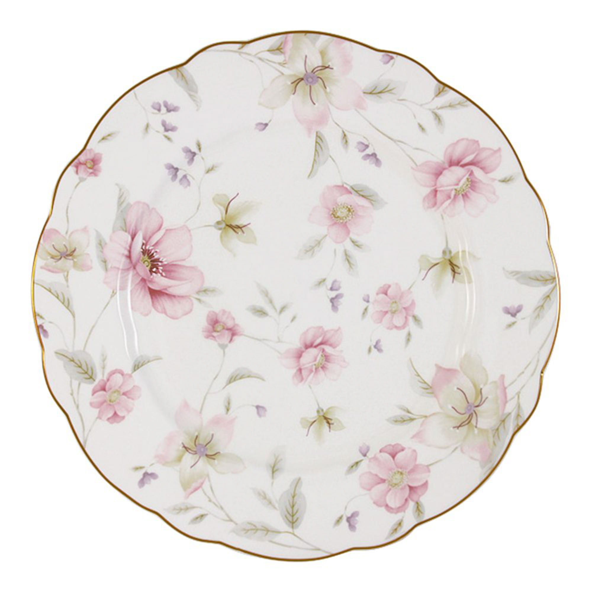 Тарелка обеденная Anna Lafarg Розовый танец 26,5 см тарелка закусочная anna lafarg emily kamelia 19 см