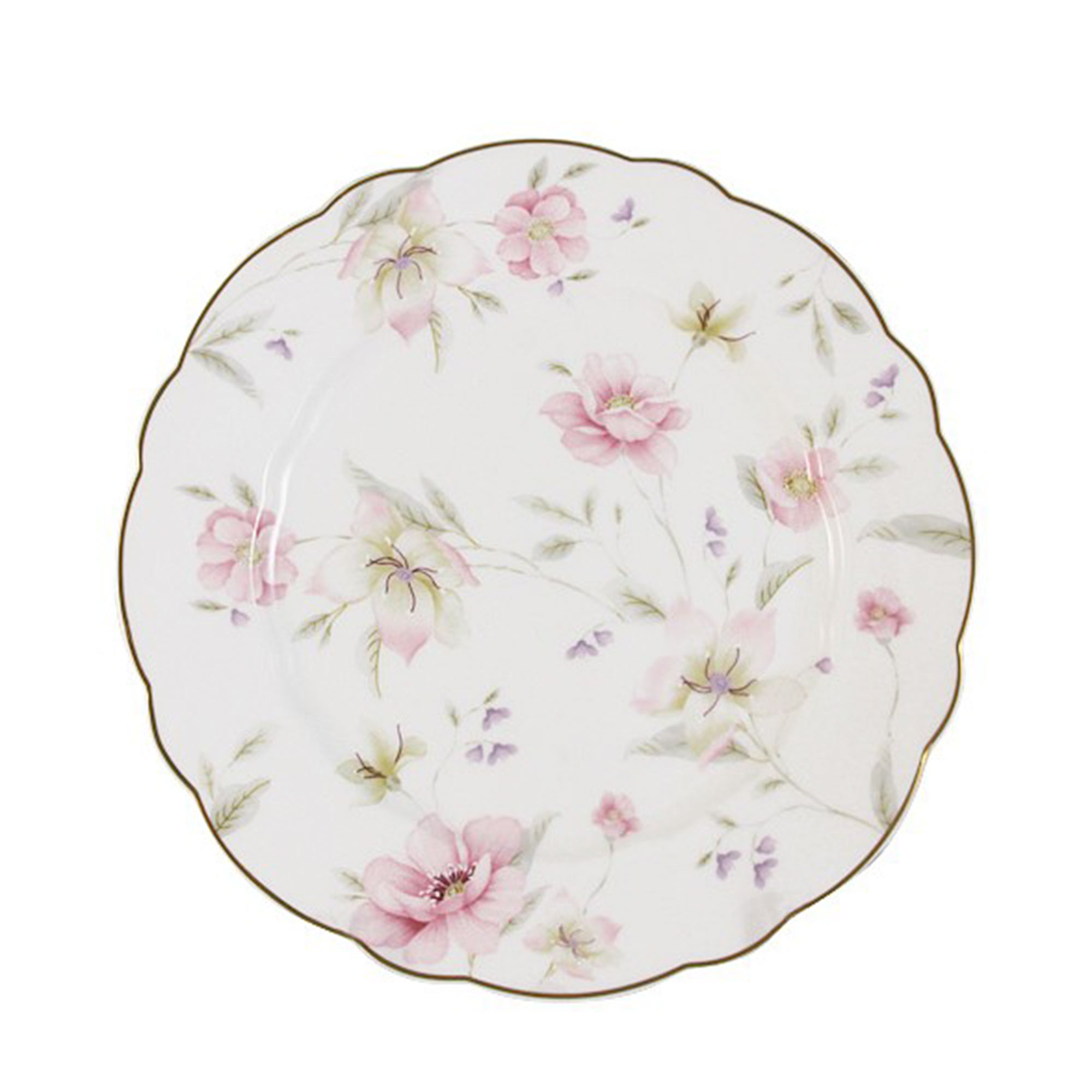 Тарелка Anna Lafarg Розовый танец 20 см тарелка закусочная anna lafarg emily kamelia 19 см