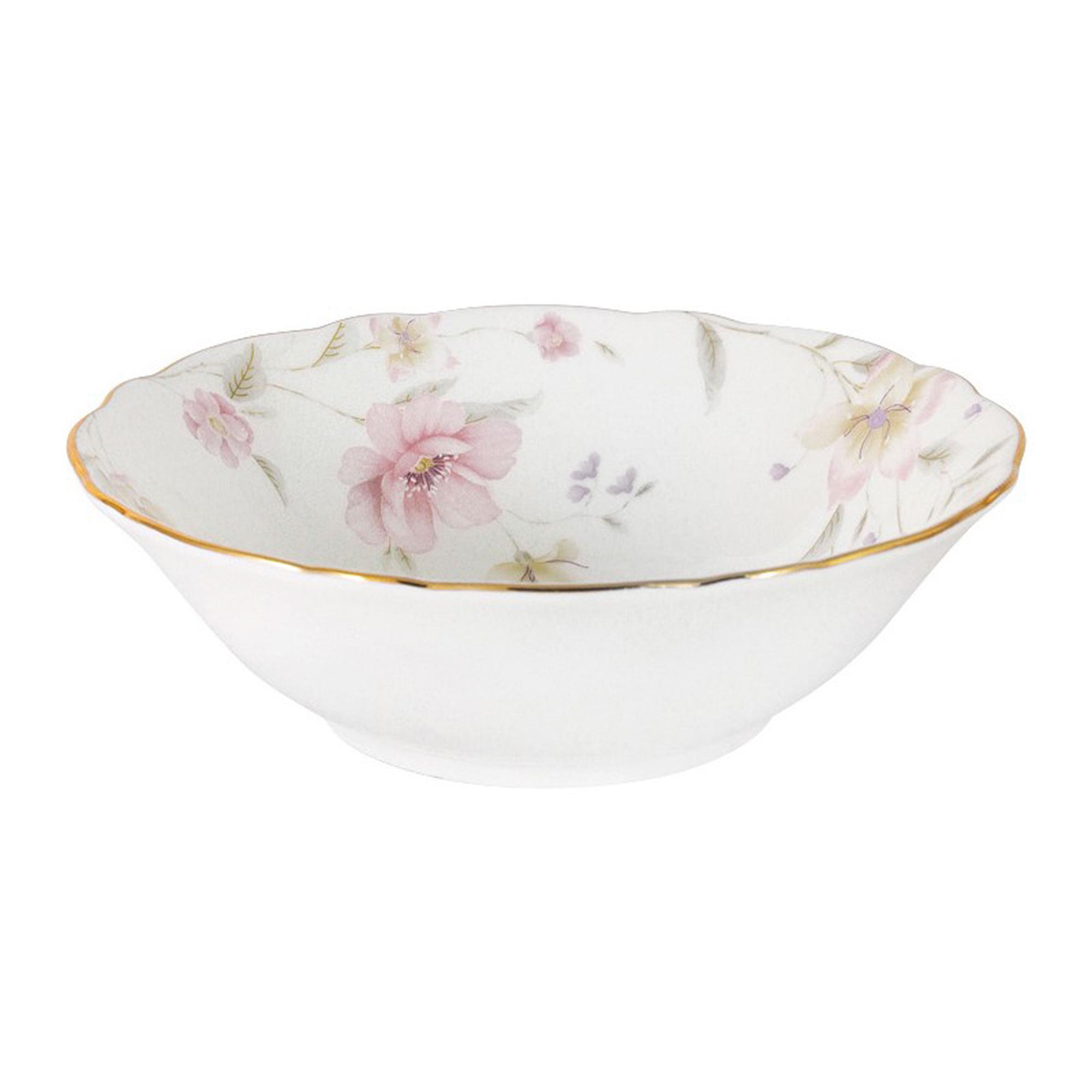Салатник малый Anna Lafarg Розовый танец 350 мл 15 см тарелка закусочная anna lafarg emily kamelia 19 см