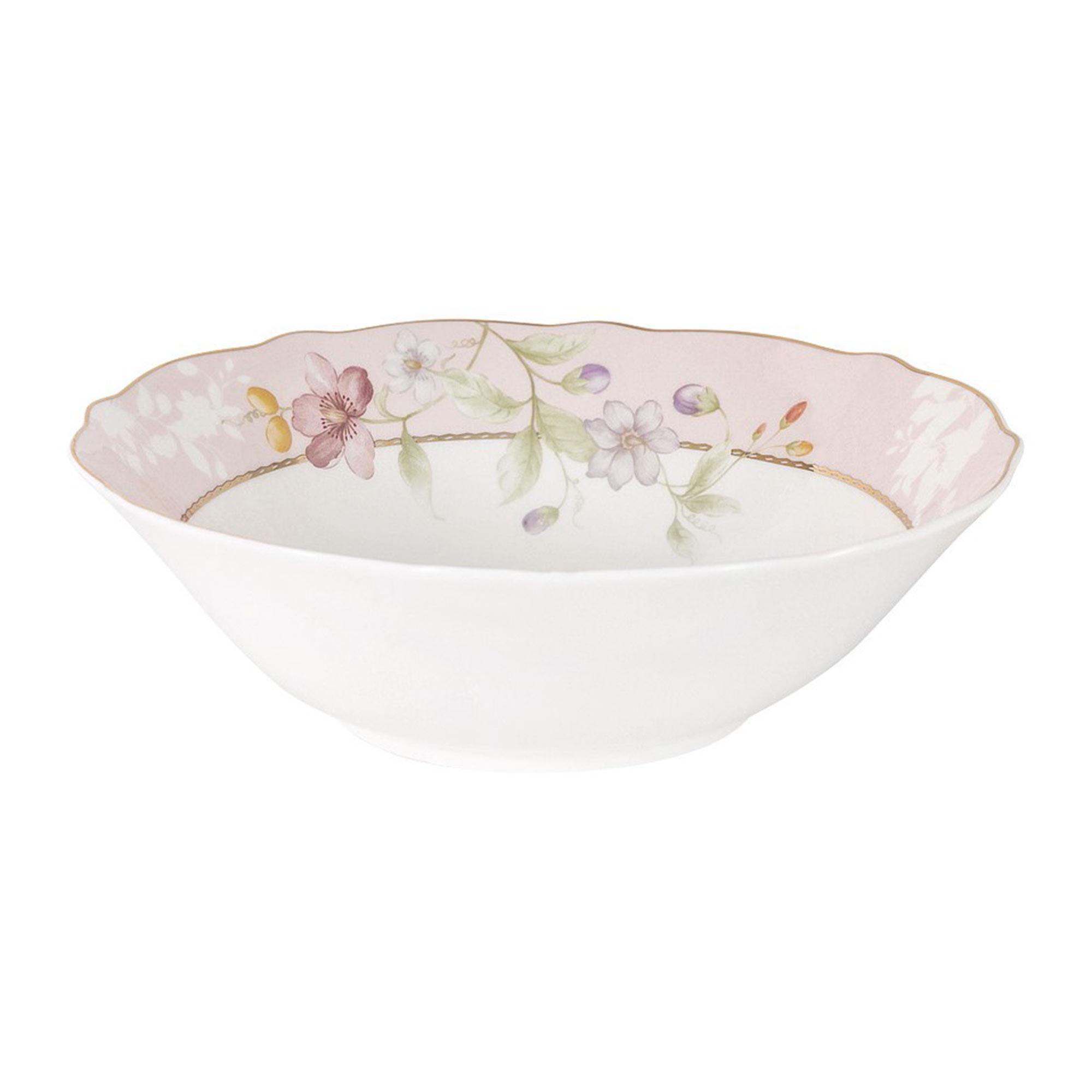 Салатник Anna Lafarg Цветы 1,2 л 23 см тарелка закусочная anna lafarg emily kamelia 19 см