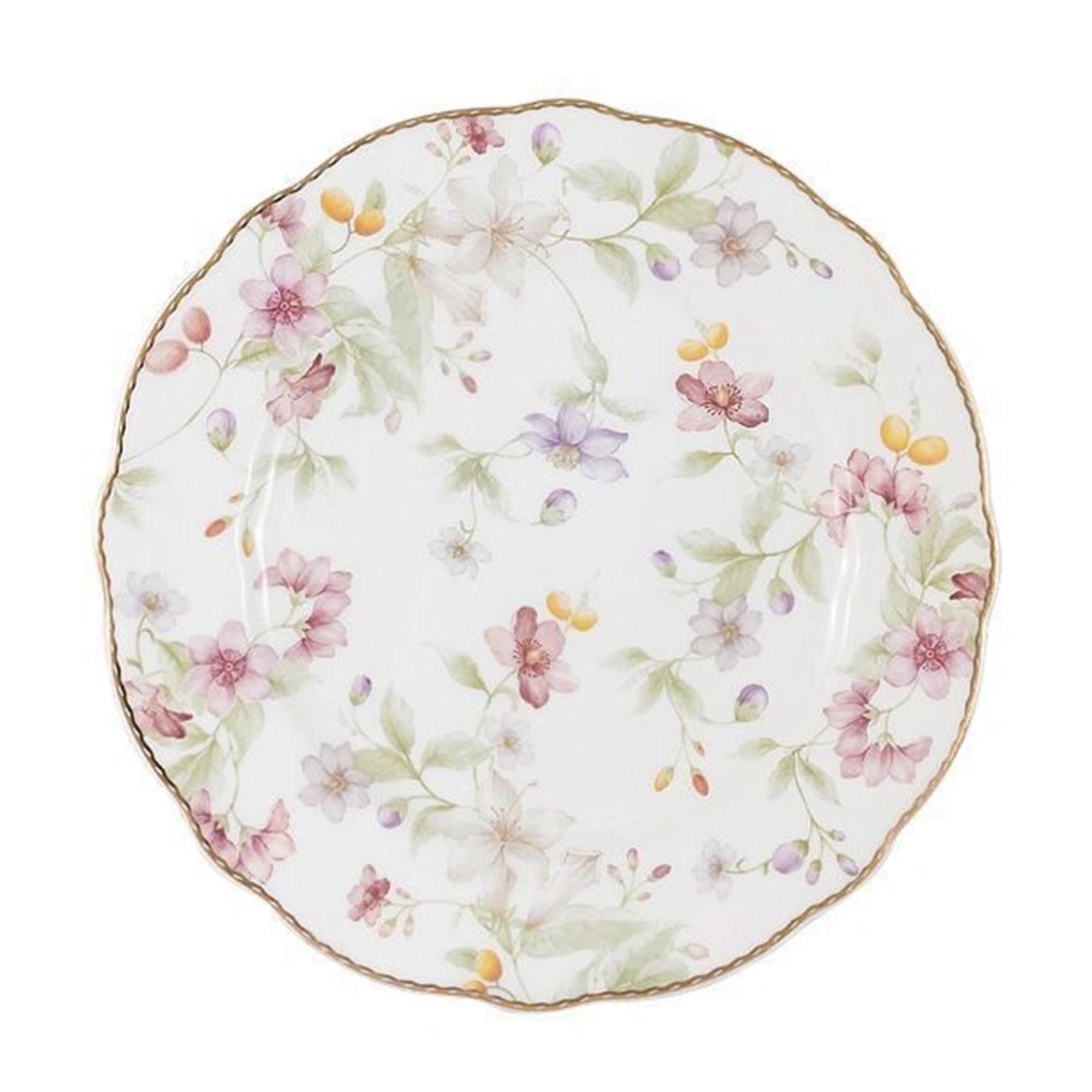 Тарелка Anna Lafarg Цветы 20 см тарелка закусочная anna lafarg emily kamelia 19 см
