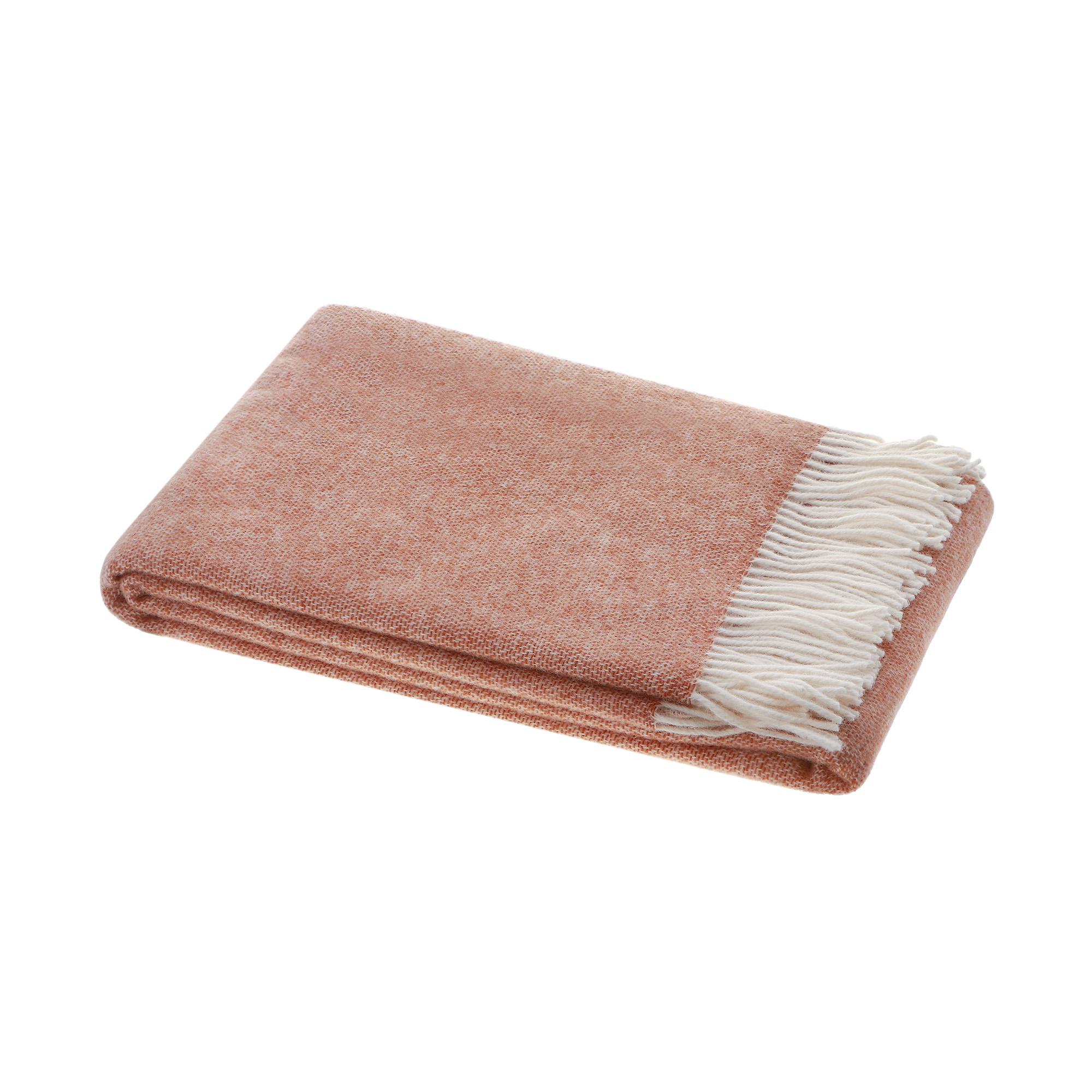 Плед Home Blanket Alisabetta Бежевый с белым 140х200 см