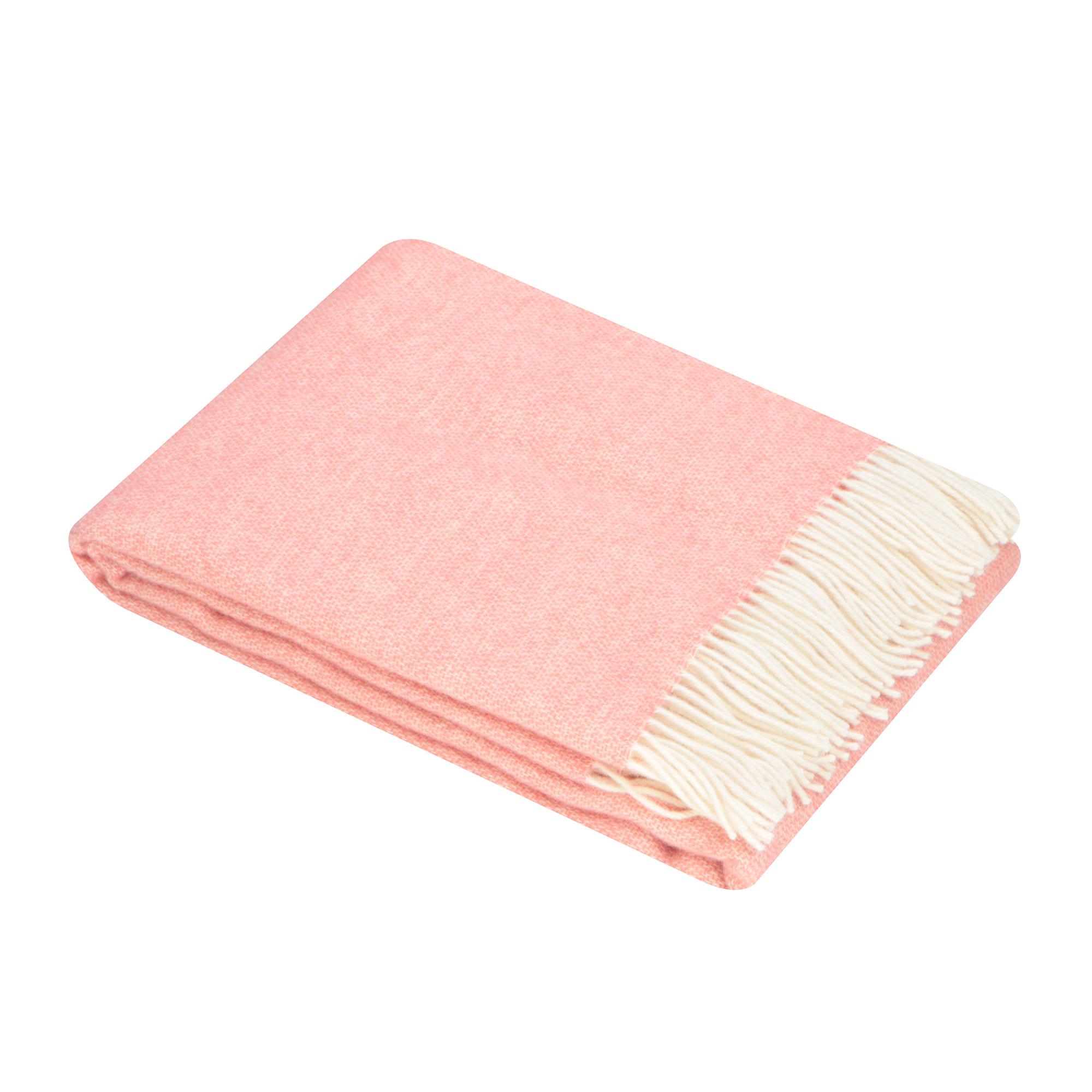 Плед Home Blanket Alisabetta розовый с белым 140х200 см
