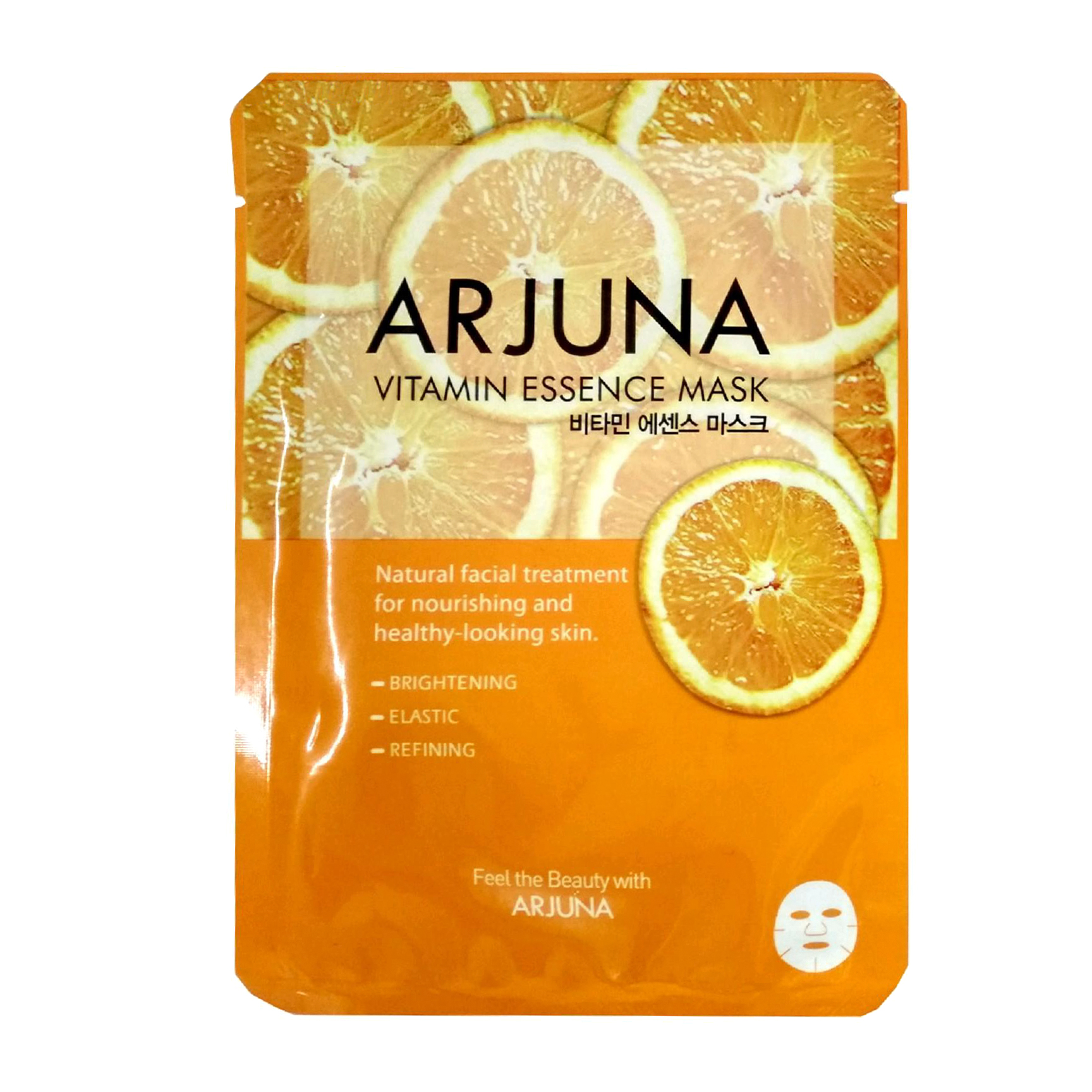 Тонизирующая маска для лица All New Cosmetic Arjuna Essence с витаминной эссенцией