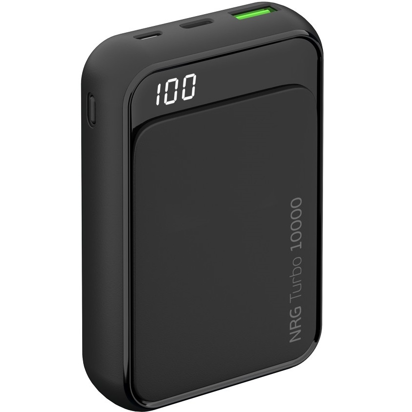 Внешний аккумулятор Deppa NRG Turbo Compact LCD 10000 mAh