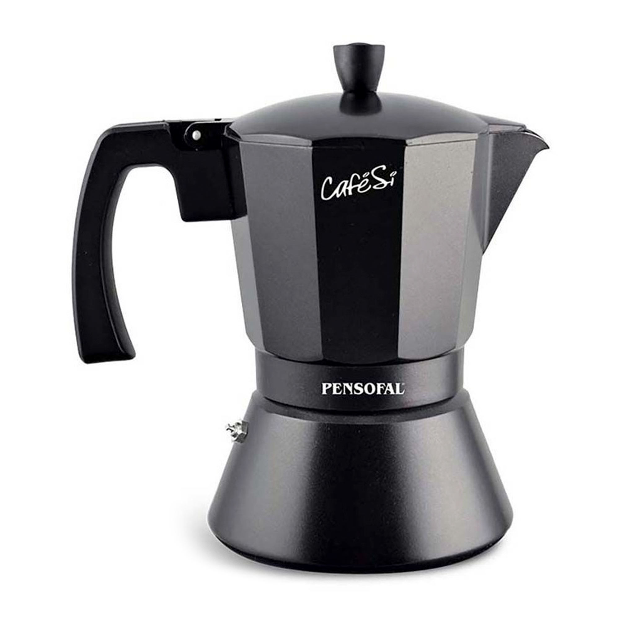 Фото - Гейзерная кофеварка Pensofal Cafesi Noir 470 мл гейзерная кофеварка на 6 чашек 350 мл pensofal