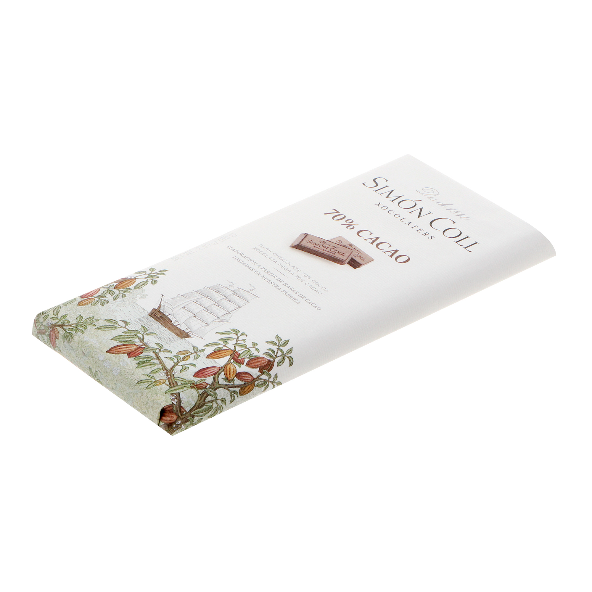 Шоколад Simon Coll 70% 85 г