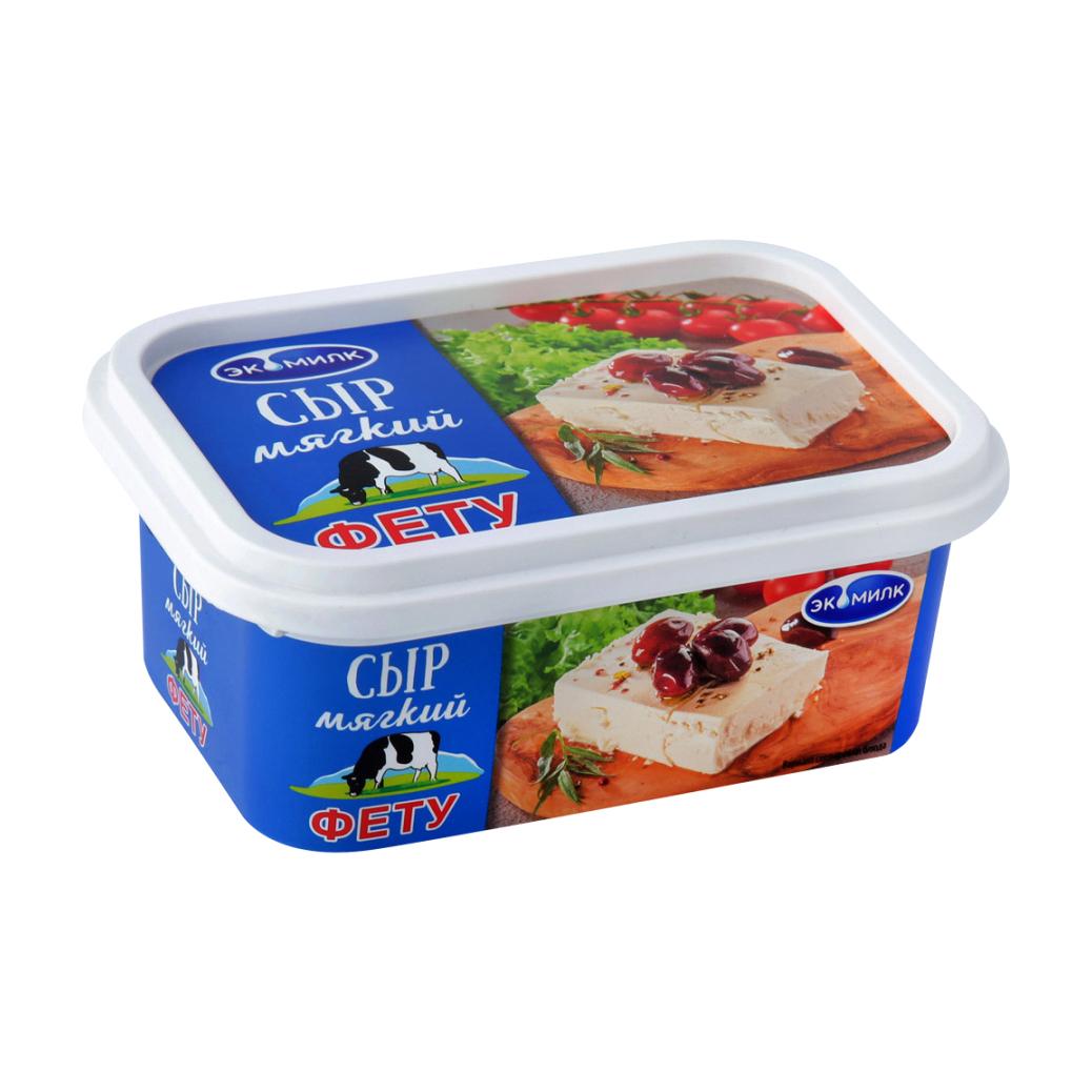 Сыр мягкий Экомилк Фета 45%, 250 г