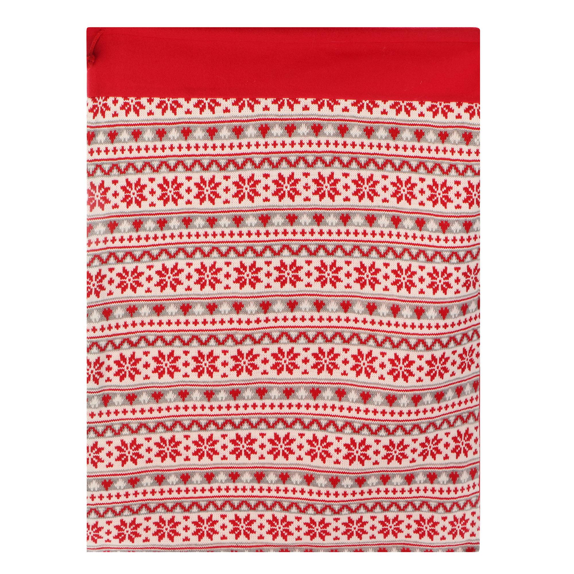 Фото - Декоративный мешок для подарков Kaemingk 40x70 см мягкие игрушки стрекоза мешок для подарков барон