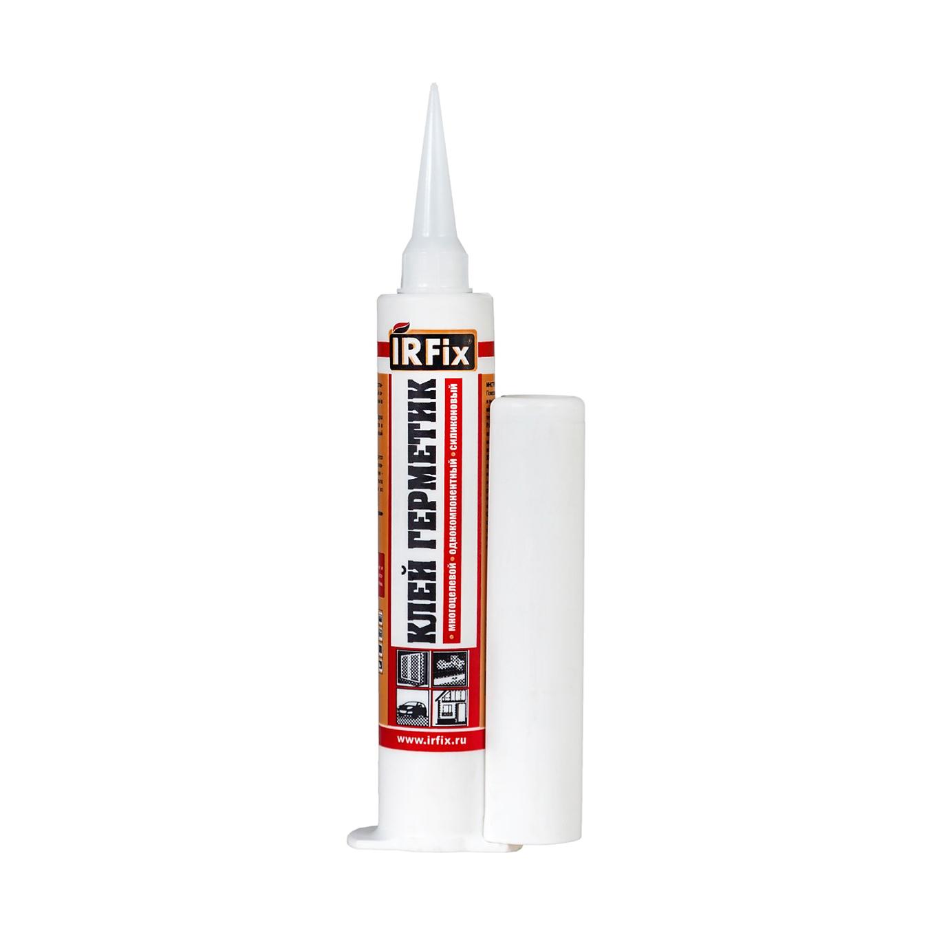 Клей герметик IRFIX белый 80 мл