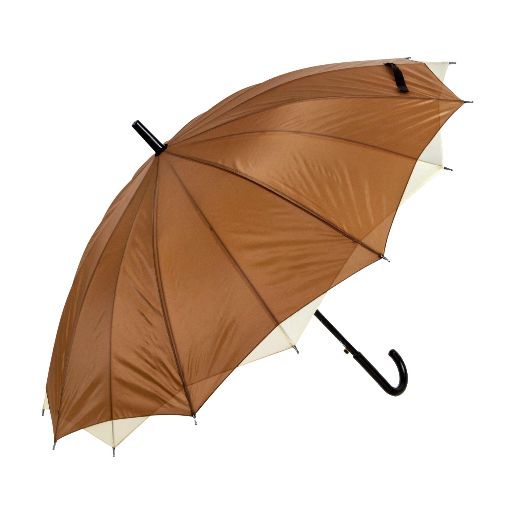 Зонт-трость Sima женский Однотонный бежевый/молочный корона принца sima land с изумрудами