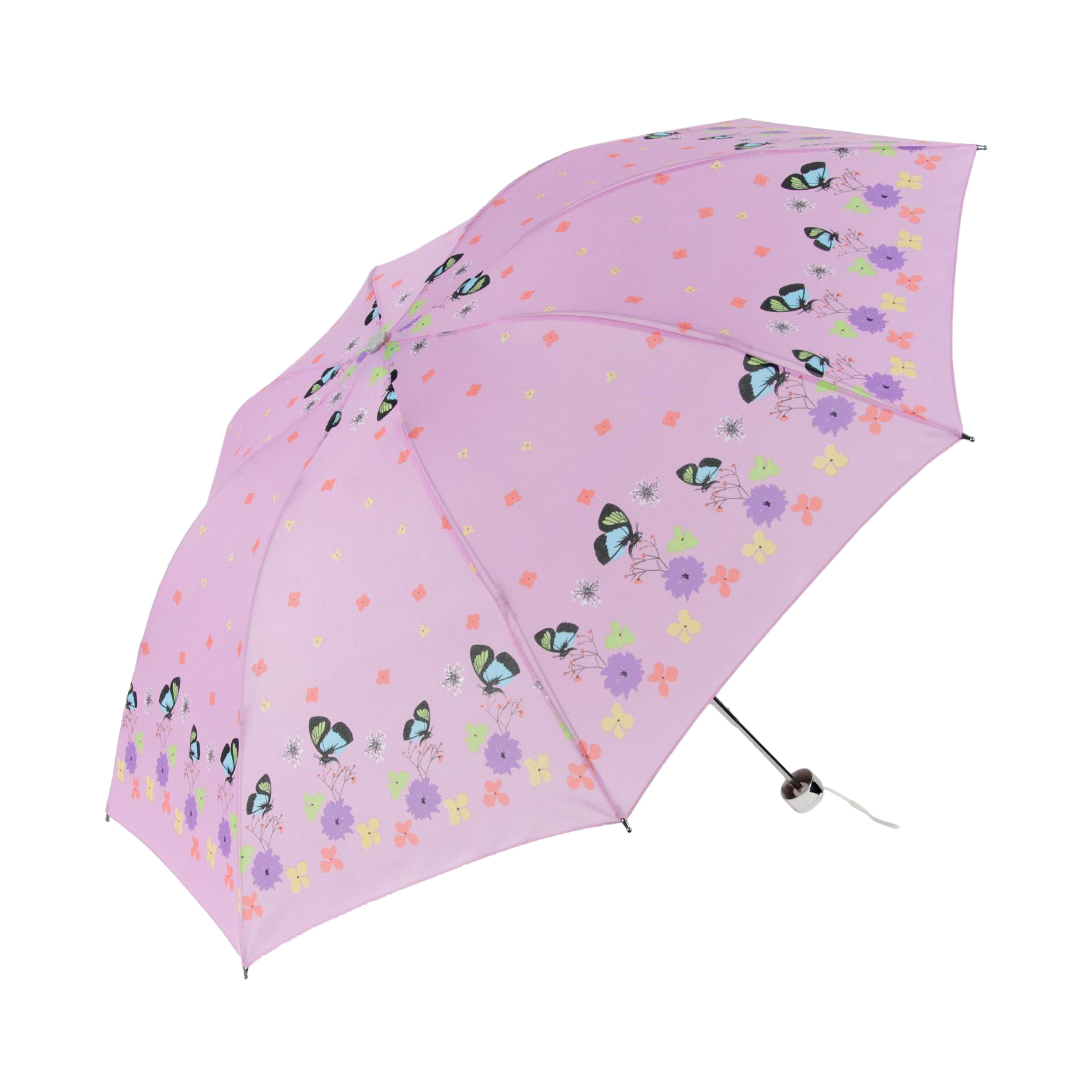 Зонт механический Sima женский Весенняя полянка 4 сложения корона принца sima land с изумрудами