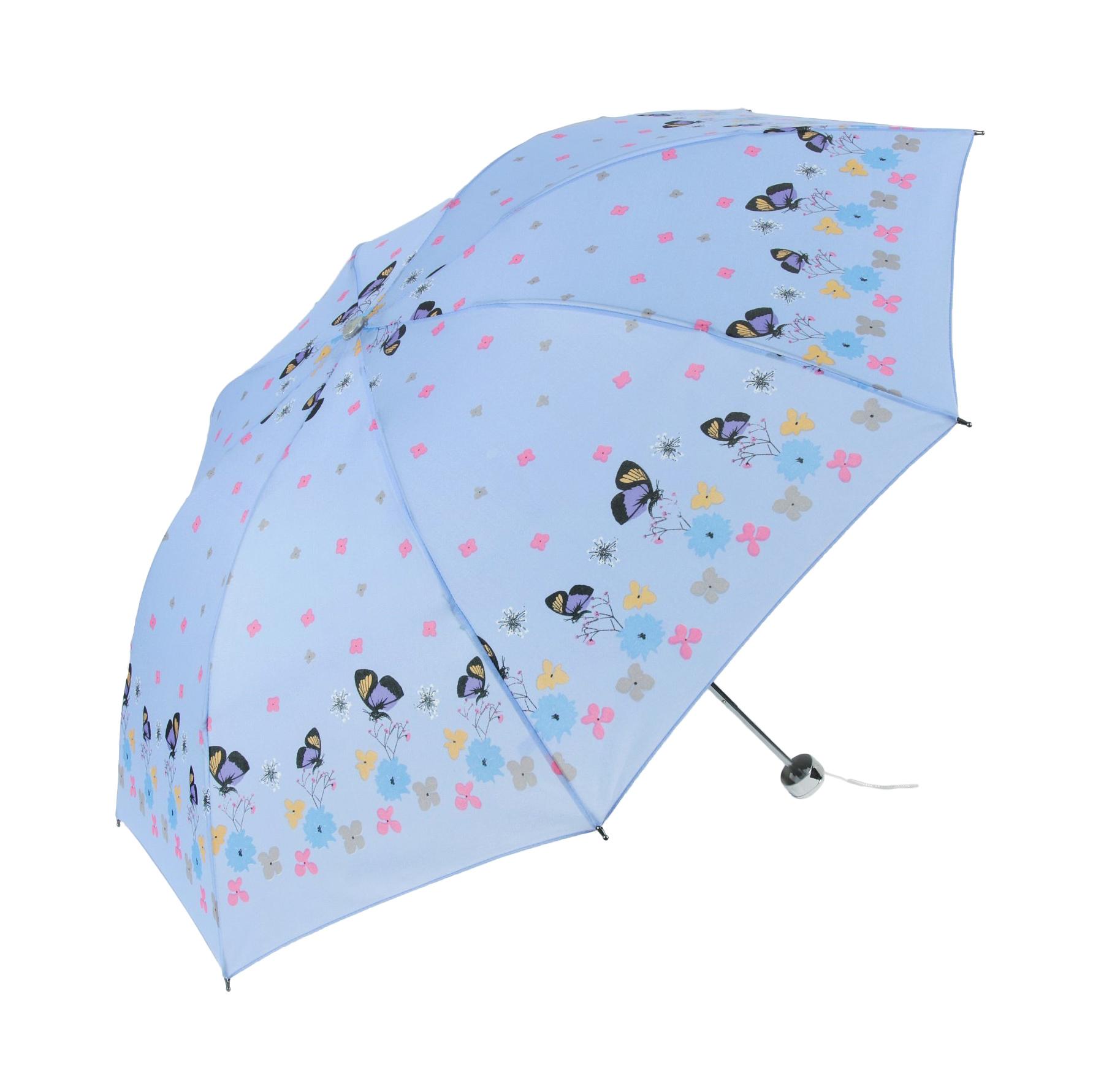 Зонт механический Sima женский Весенняя полянка 4 сложения