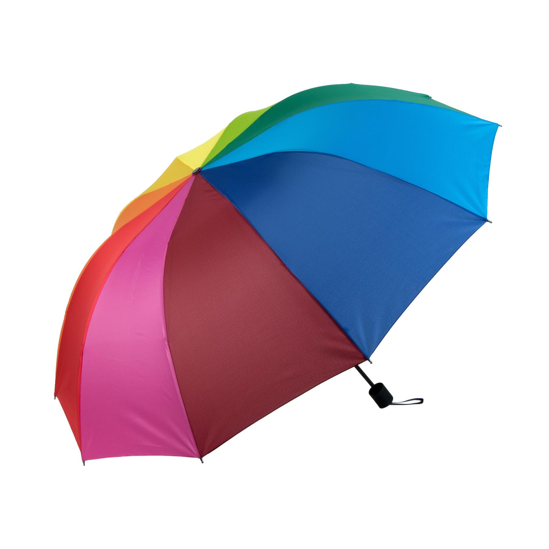 Зонт механический Sima женский Радуга 4 сложения