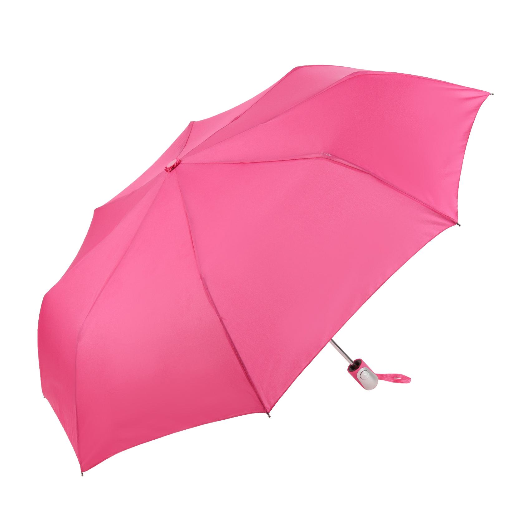 Зонт полуавтомат Sima женский Цветочки 3 сложения