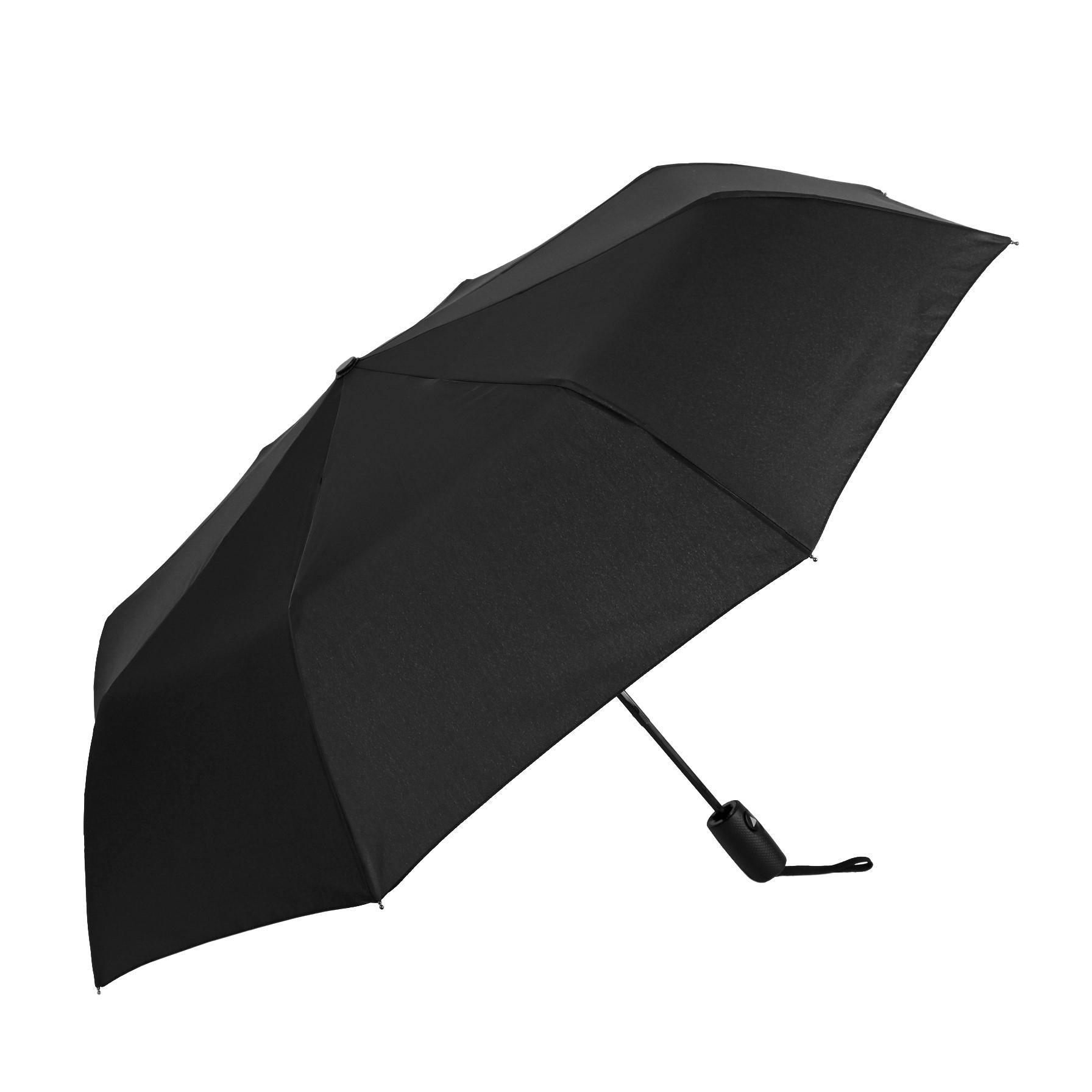 Зонт полуавтомат Sima мужской Однотонный 3 сложения