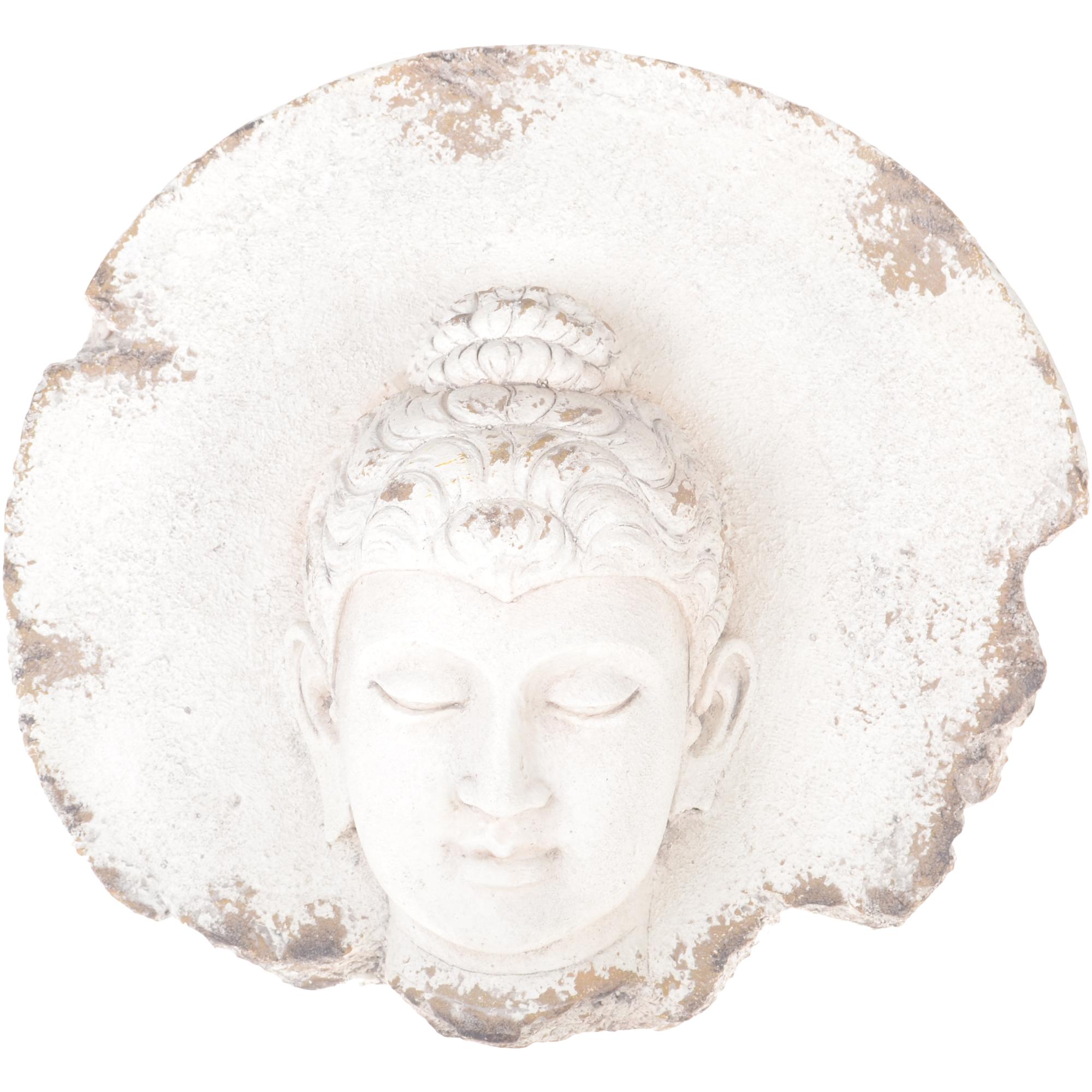 Фото - Настенный декор Dingsheng Будда 49х18х46 см фигура садовая декоративная dingsheng будда 47x25x70 см