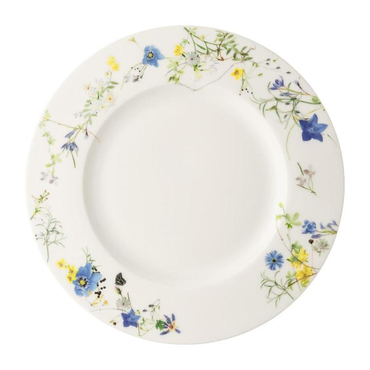 rosenthal selection brillance fleurs sauvages тарелка coup 27 см Тарелка закусочная с бортом Rosenthal Альпийские цветы 23 см