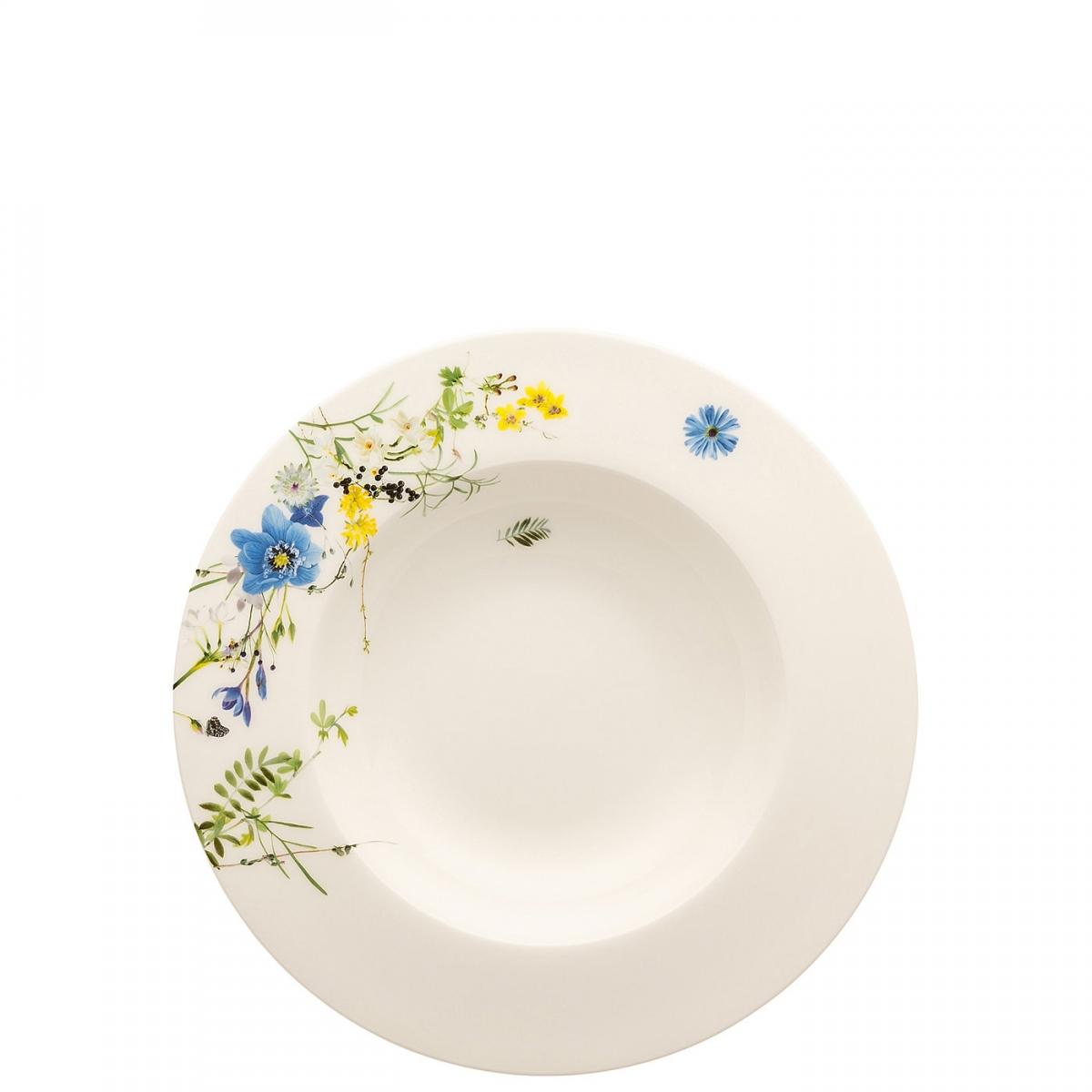 rosenthal selection brillance fleurs sauvages тарелка coup 27 см Тарелка суповая с бортом Rosenthal Альпийские цветы 23 см