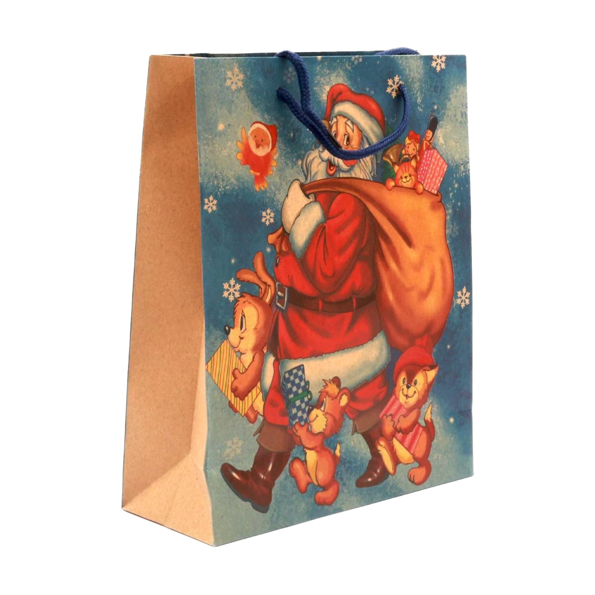 Пакет подарочный Due Esse Christmas Дед Мороз 20х8х25 см вешалка esse hg2 03