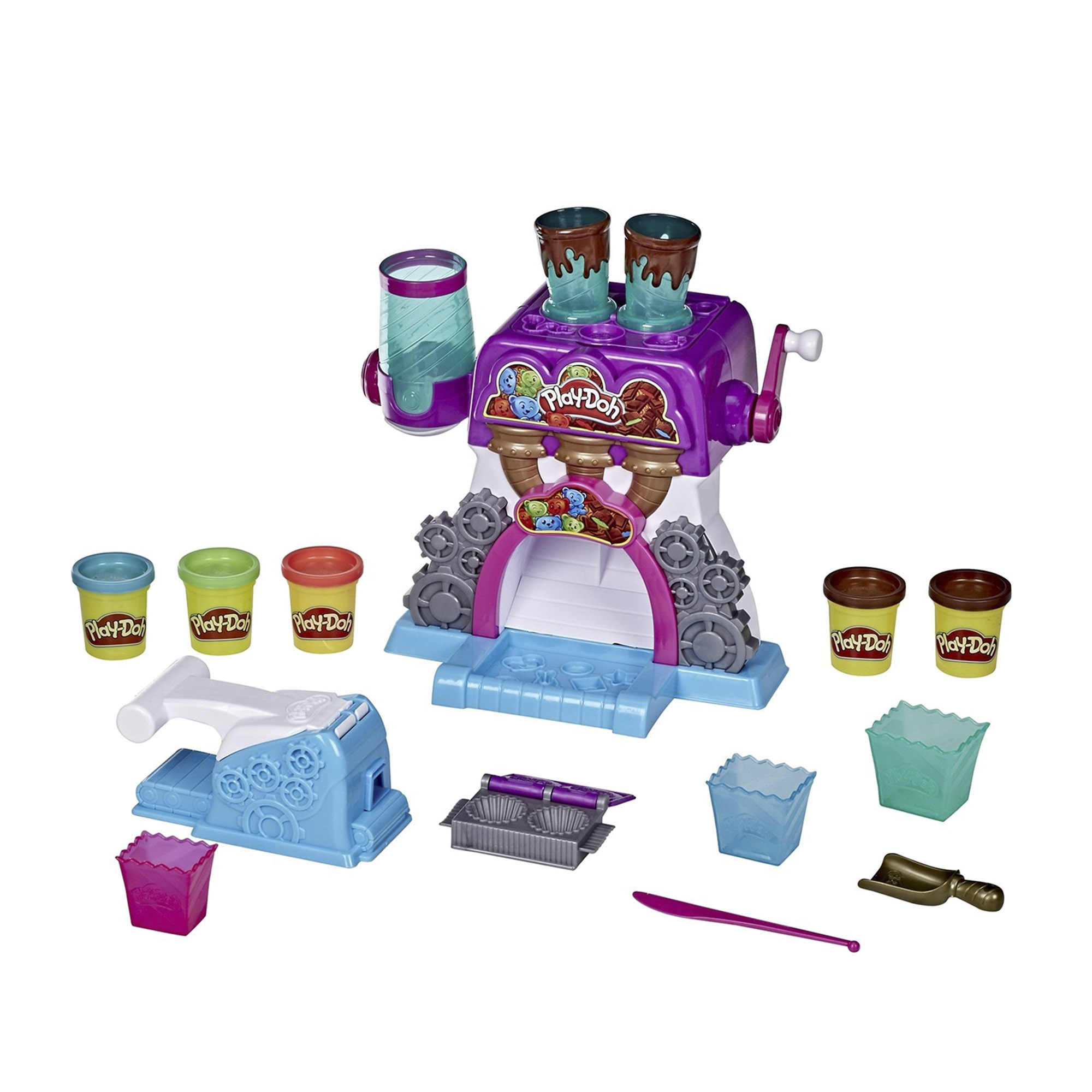 Фото - Набор игровой Play-Doh Конфетная фабрика игровой набор специальной массы hasbro play doh wheels e4508