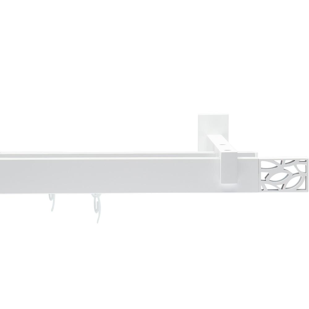 Карниз двухрядный Arttex Шарм белый 240 см