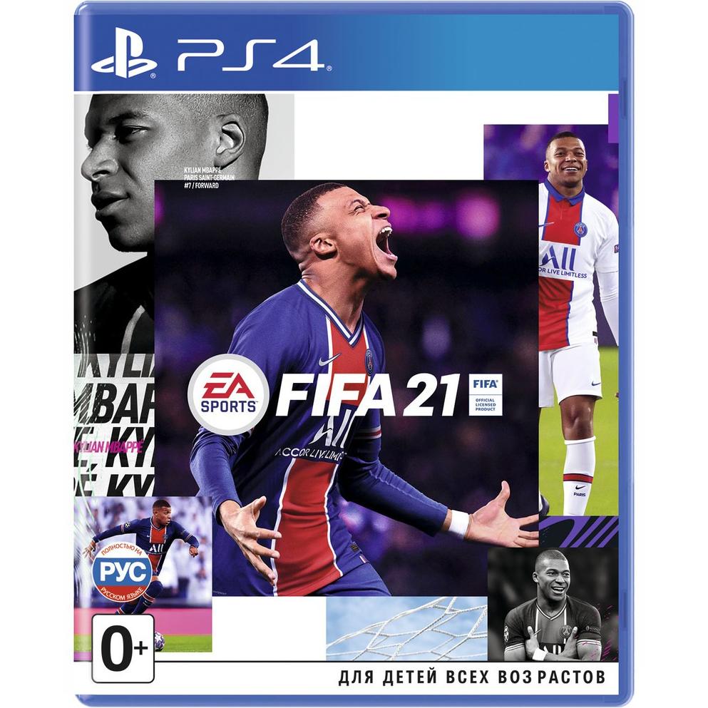 Игра для Sony PS4 FIFA 21 русская версия ps4 fifa 20
