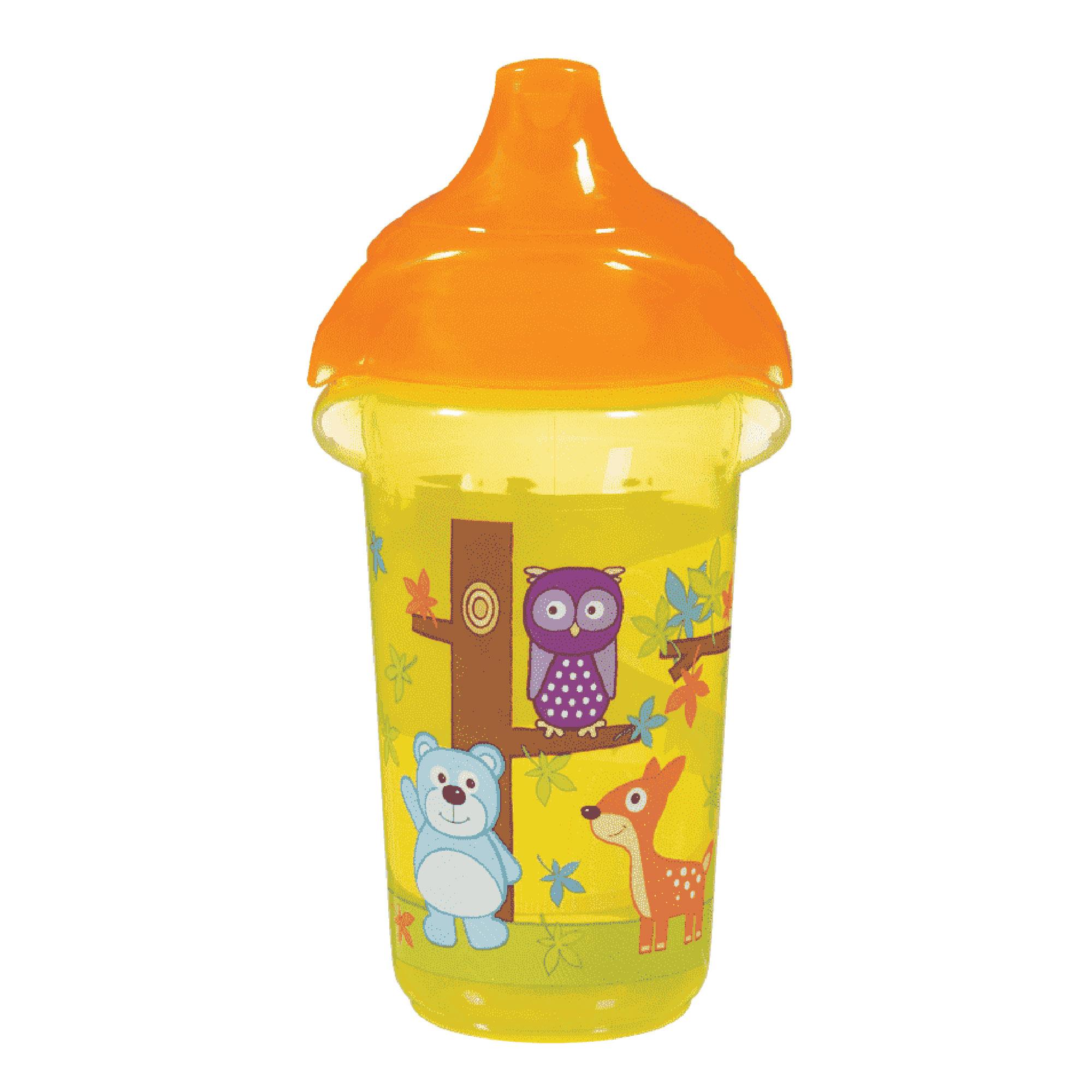 Поильник-чашка Munchkin Deco Sippy Click Lock с носиком желтый 266 мл