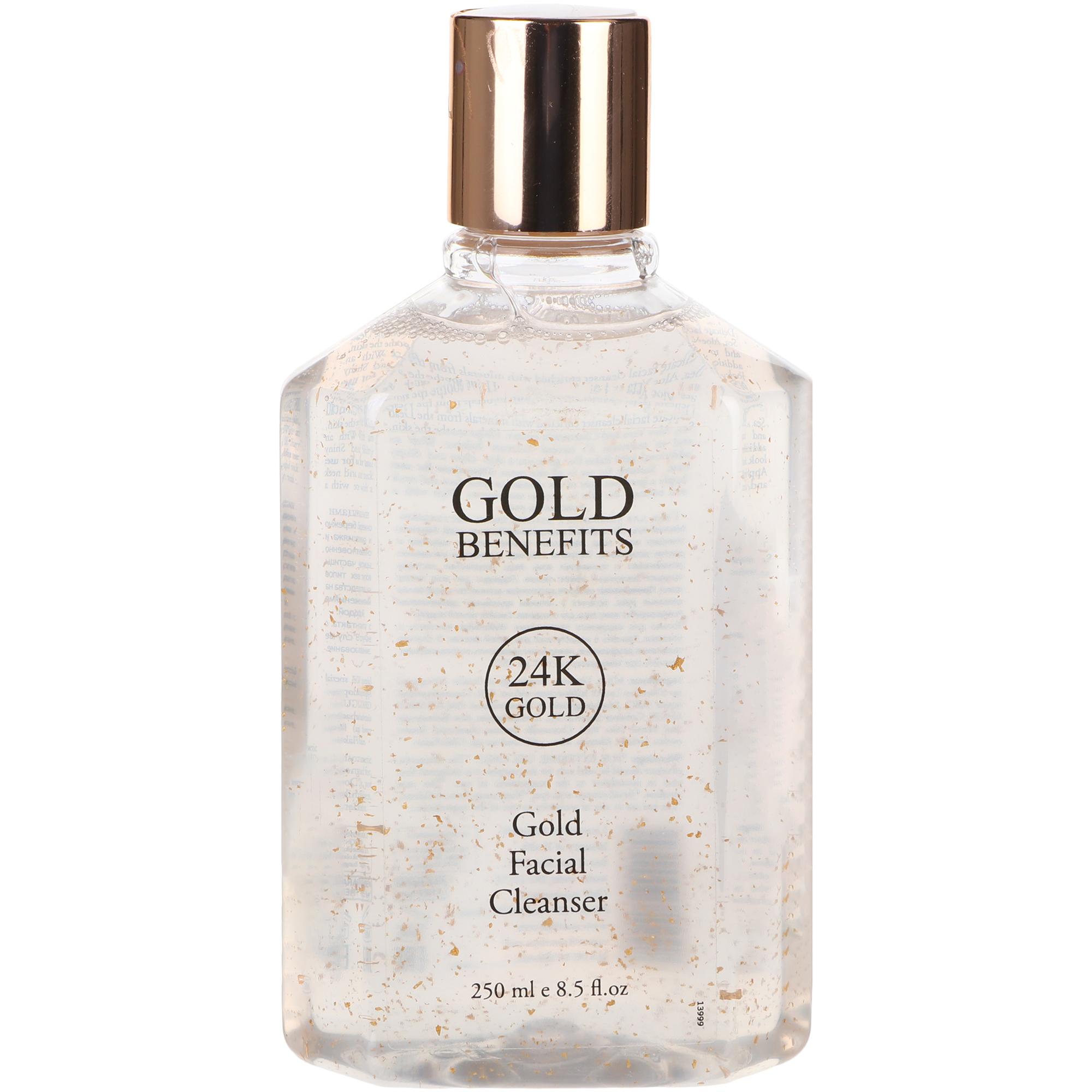 Гель Gold benefits для умывания 250 мл