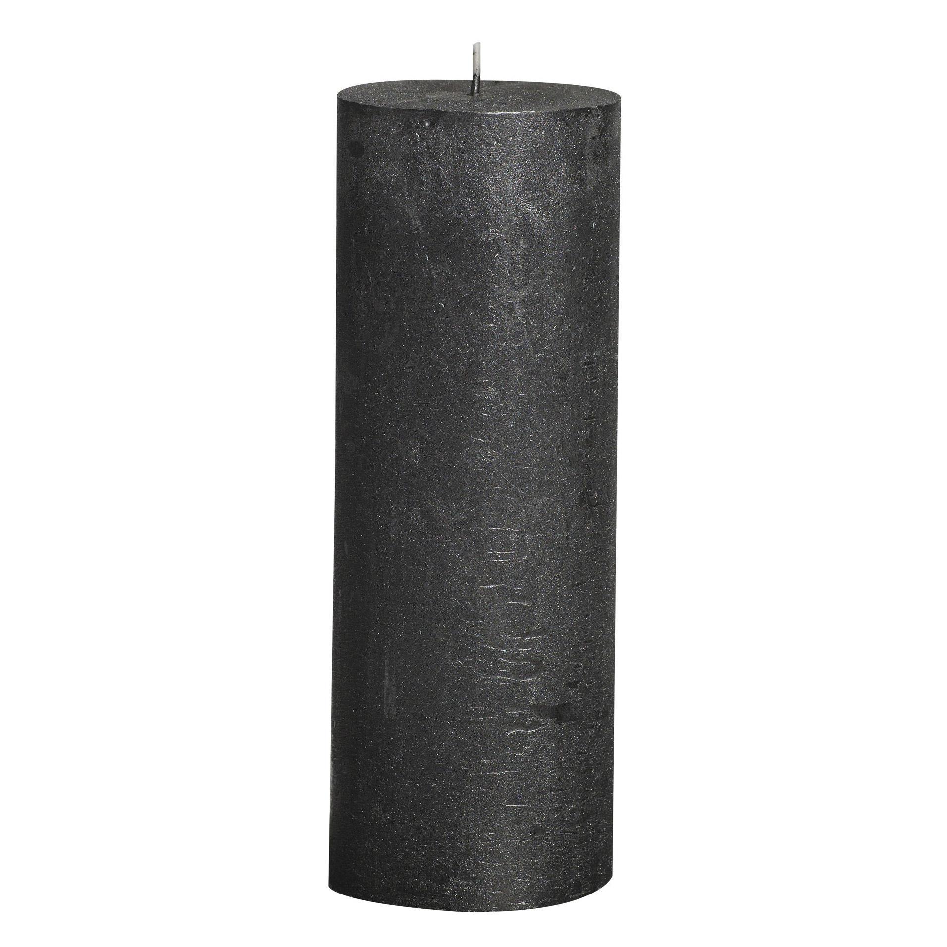 Фото - Свеча Bolsius block Rustic Metallic 19x6,8 см антрацит свеча bolsius rustic metal gold 8х6 8 см