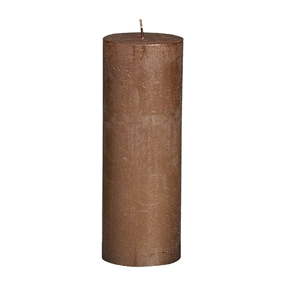 Фото - Свеча Bolsius block Rustic Metallic 19x6,8 см медная свеча bolsius rustic metal gold 8х6 8 см